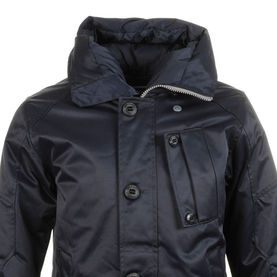 g star raw mountain hdd parka jacket mn japan in blue for. Black Bedroom Furniture Sets. Home Design Ideas