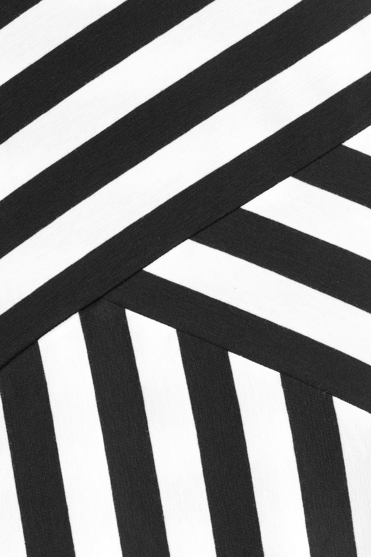 Dkny black and white maxi dress