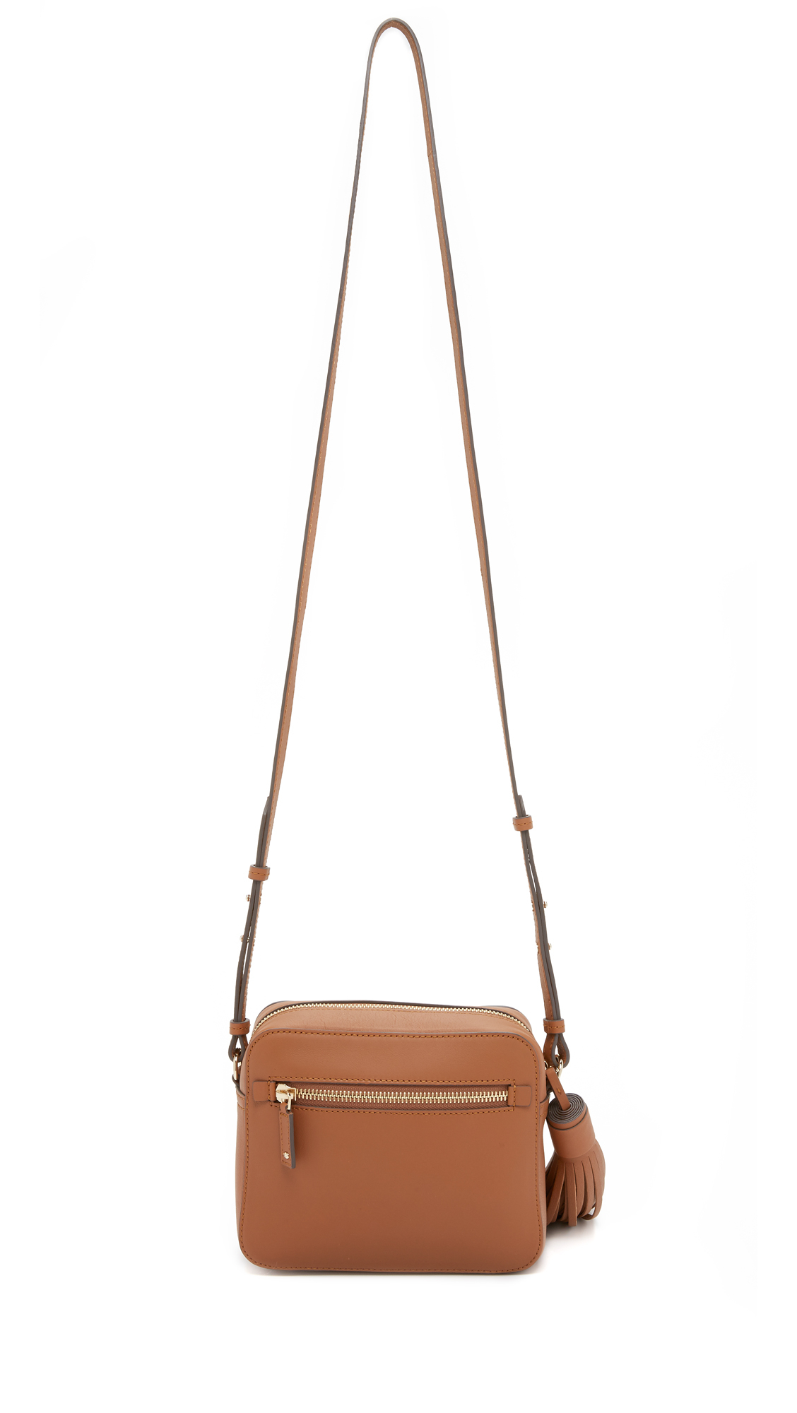 Anya Hindmarch Rainbow Cross Body Bag in Caramel (Brown)