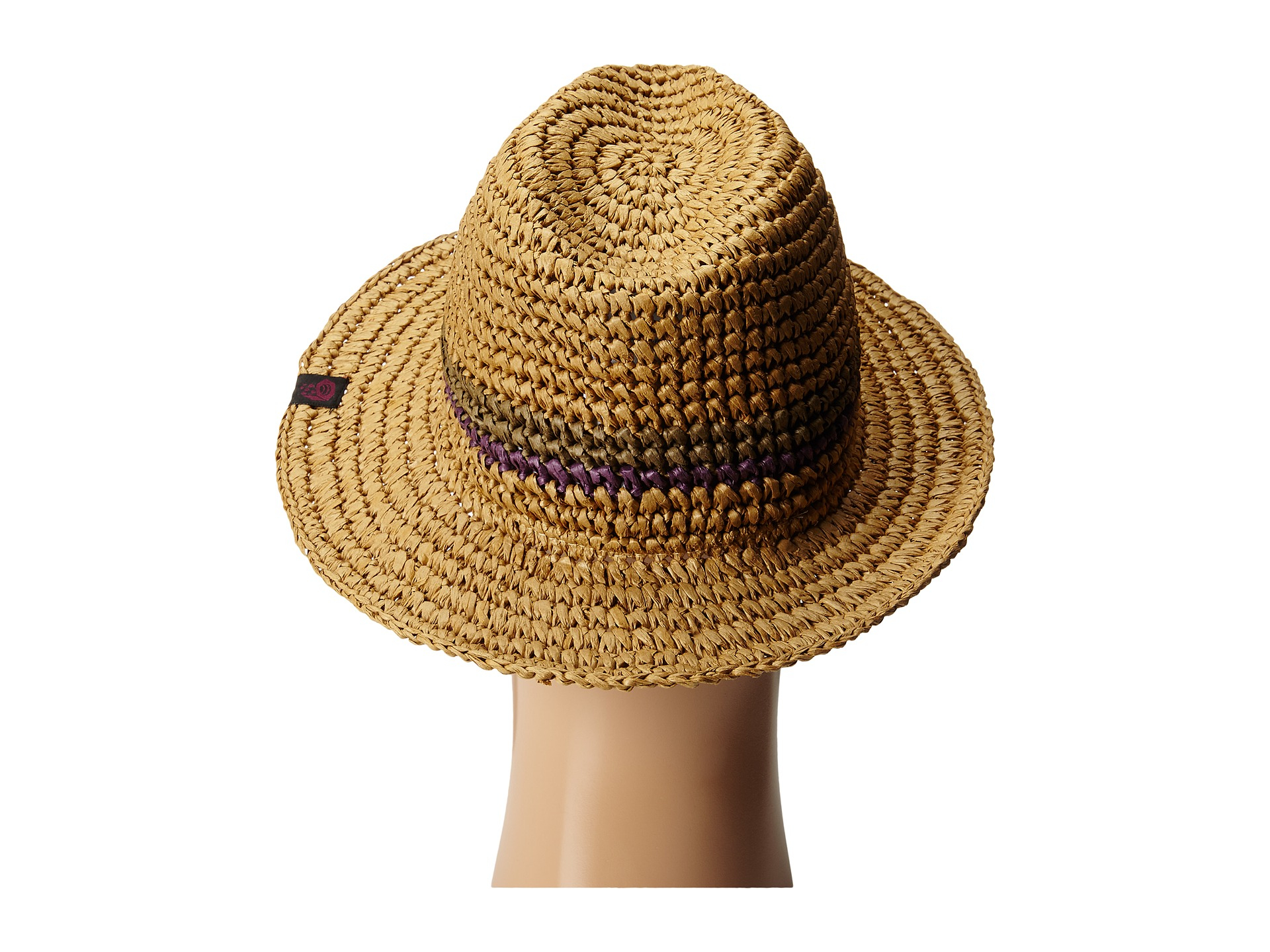 96894abbb79a1 Lyst - Mountain Hardwear Raffia Fedora in Brown for Men