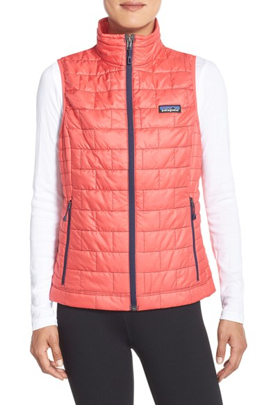 Lyst Patagonia Nano Puff Quilted Shell Vest In Pink