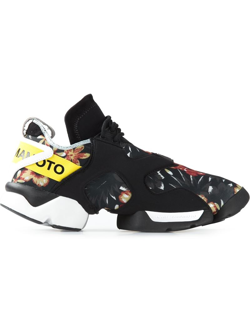 e45945265 Lyst - Y-3 Kohna Hibiscus Sneakers in Black for Men