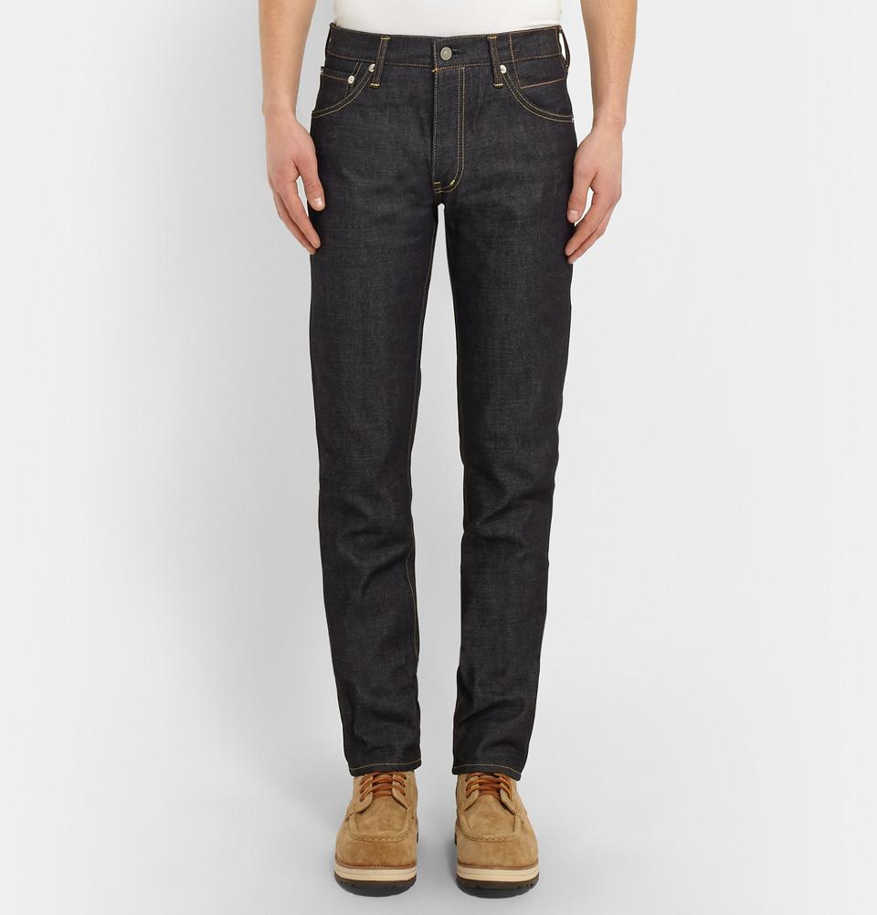 Visvim Slim-Fit Social Sculpture Jeans in Blue for Men