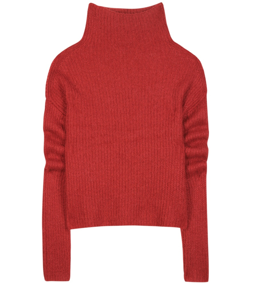 lyst haider ackermann turtleneck sweater in red. Black Bedroom Furniture Sets. Home Design Ideas