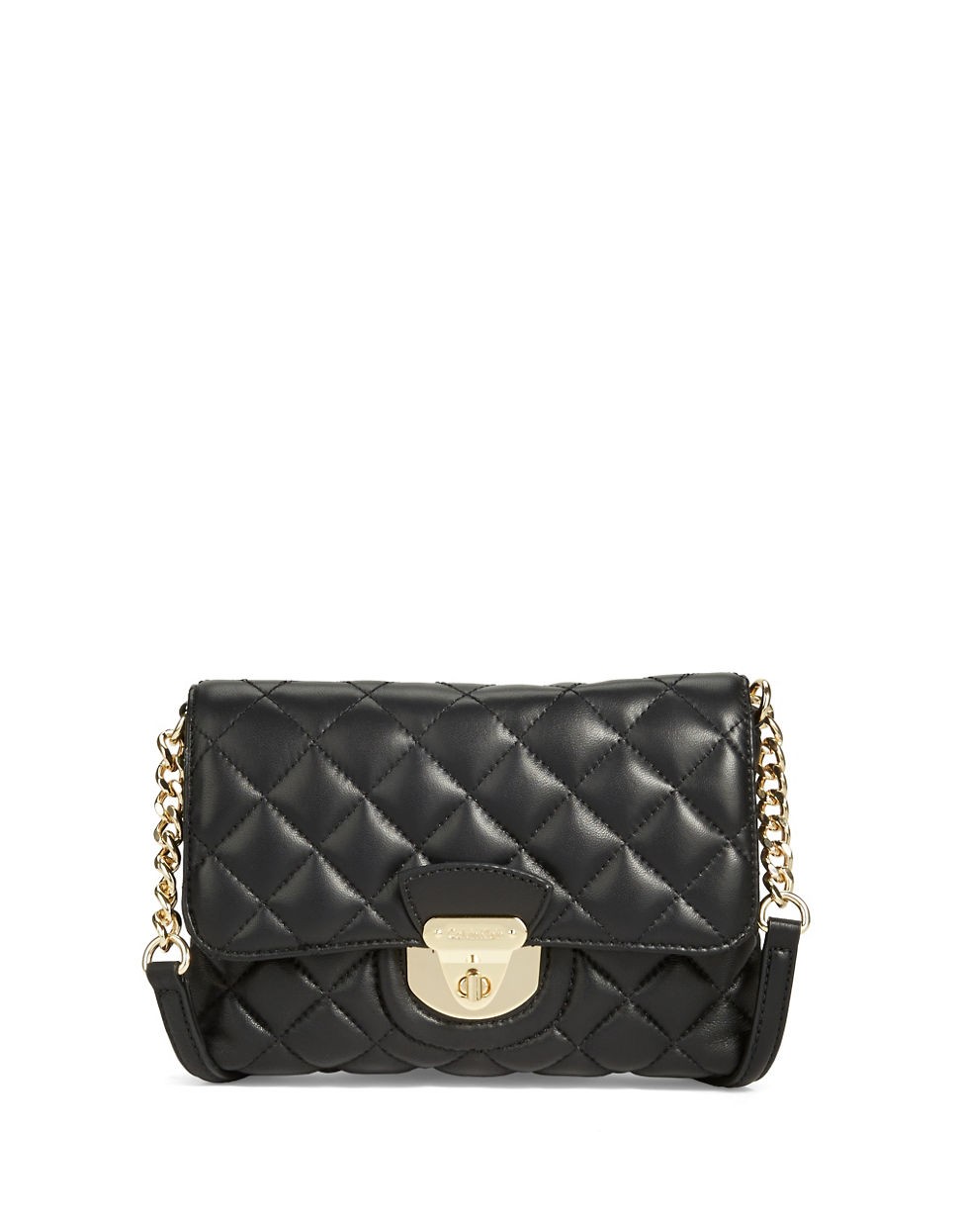 4d9201a70ab6 Calvin Klein Fermo Leather Crossbody 158 Y S Lookastic. Gallery. Lyst Calvin  Klein Quilted Crossbody Bag In Black