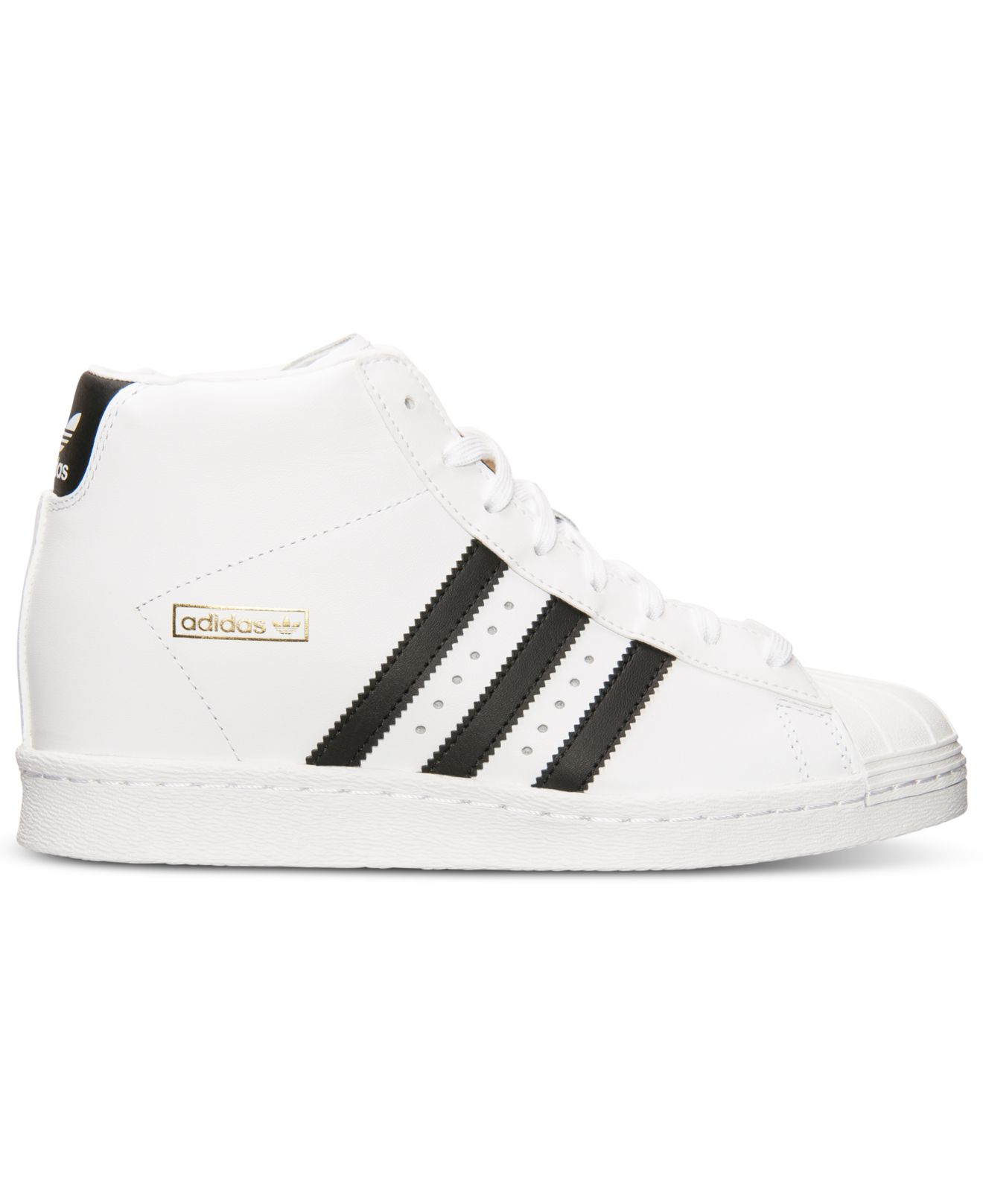 4f7bbbf761640e Lyst - adidas Women S Superstar Up Casual Sneakers From Finish Line ...