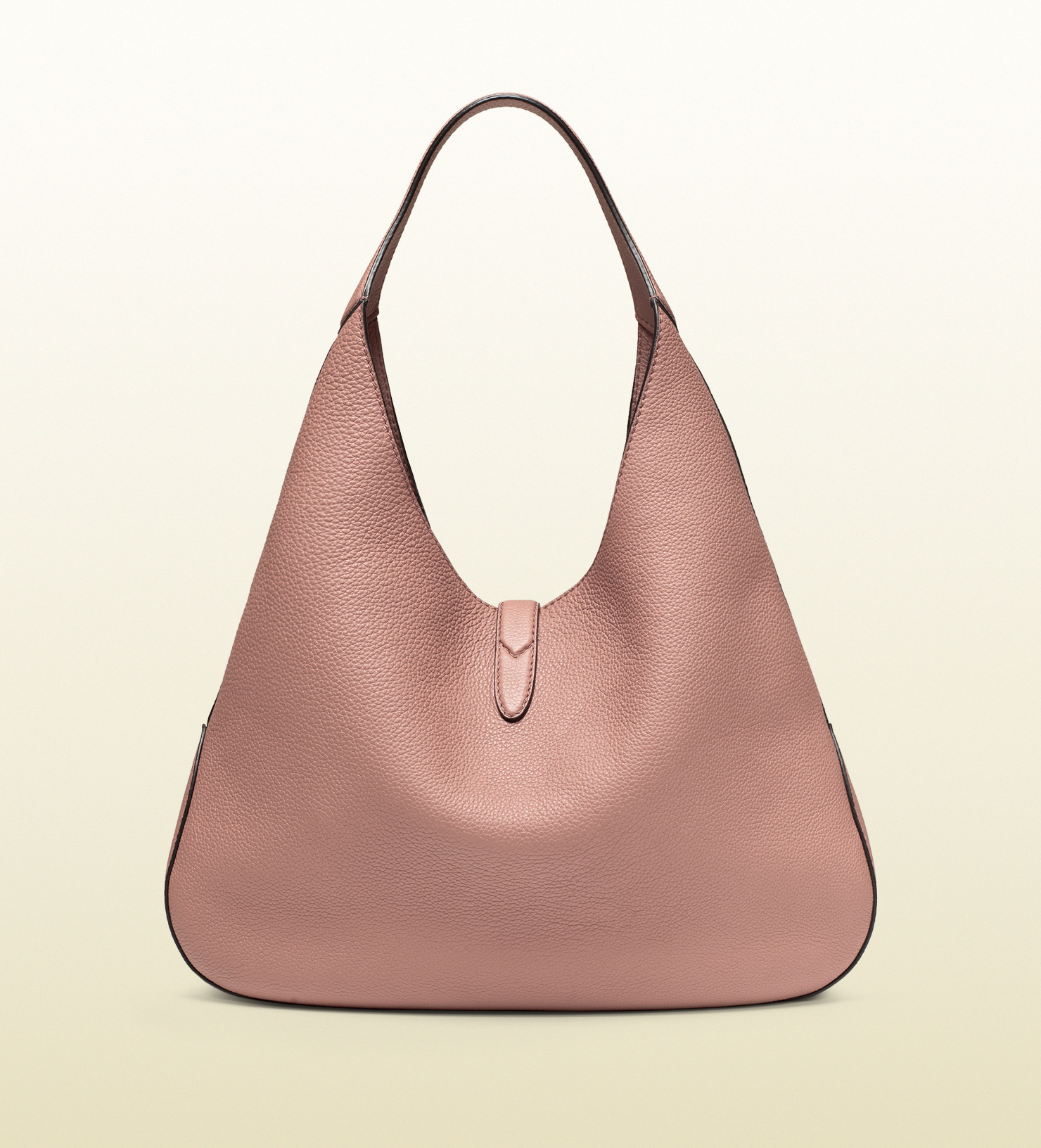 Lyst - Gucci Jackie Soft Leather Hobo in Pink aadcfca55e