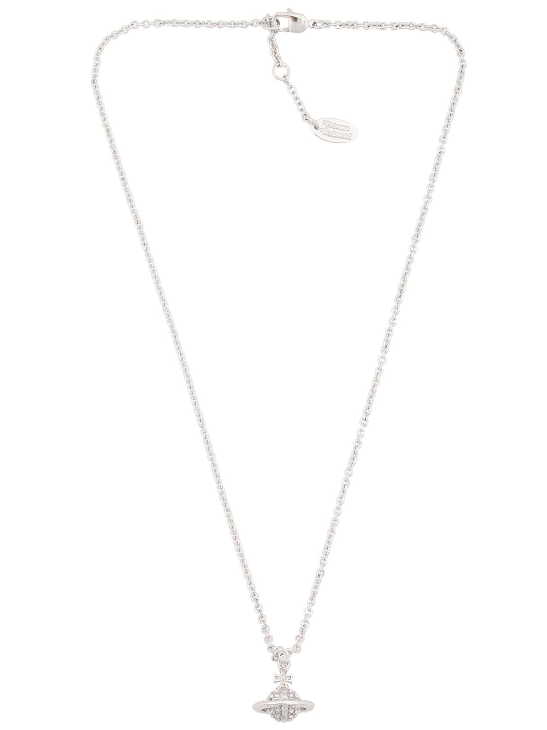 aa6f3efc0fbbcc Vivienne Westwood Mayfair 3d Small Orb Pendant Necklace in Metallic ...