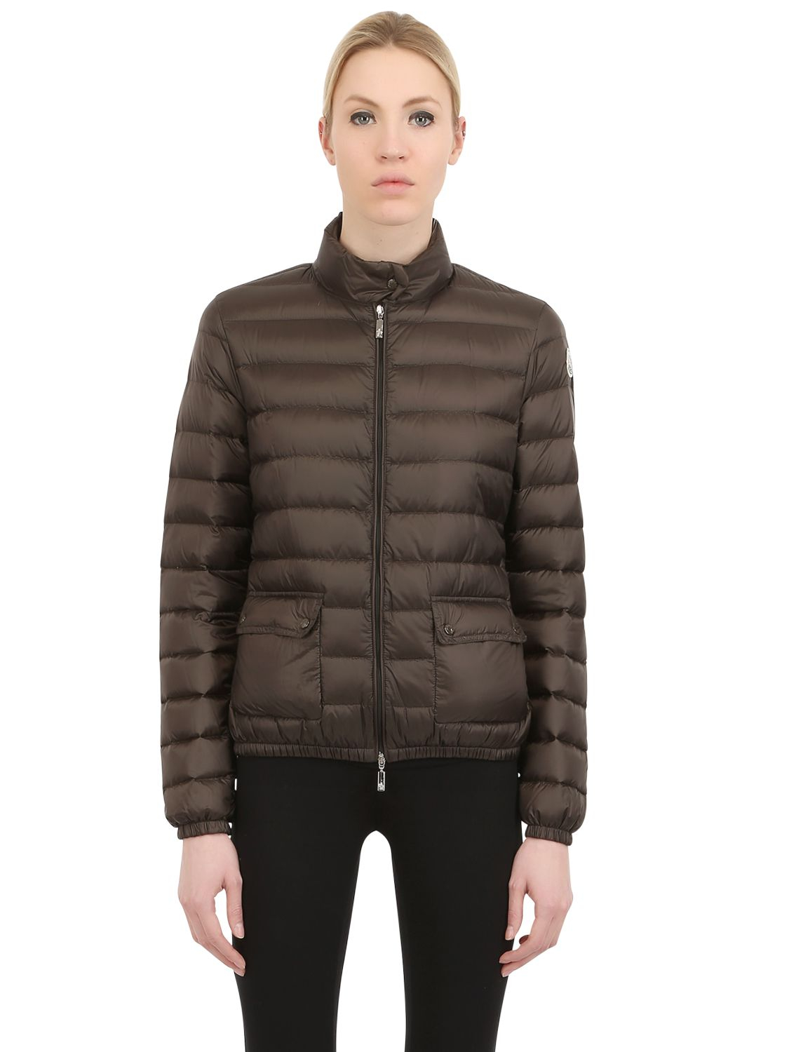 Lans Quilted Nylon Down Jacket