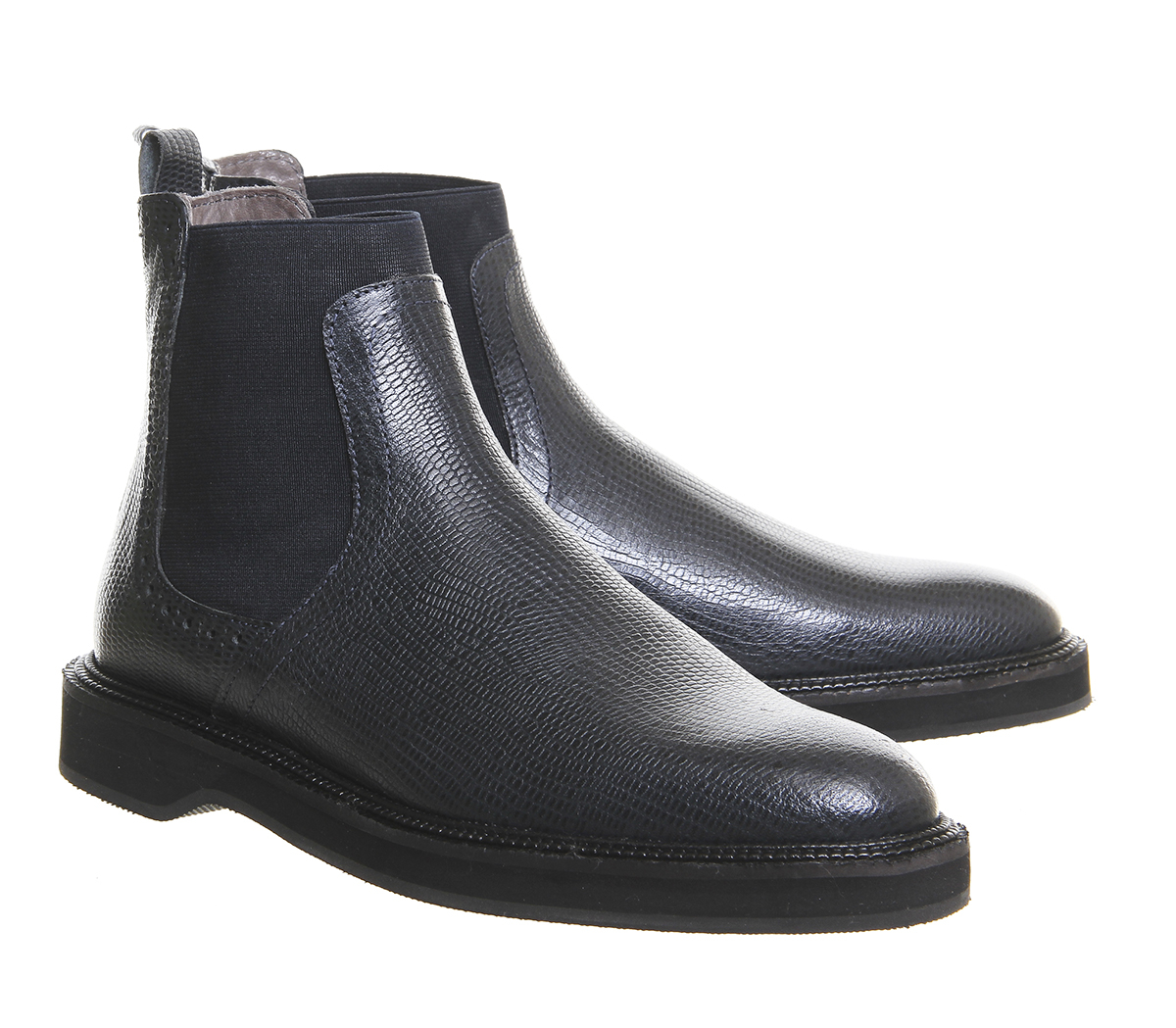 h by hudson bopp chelsea boots in black lyst