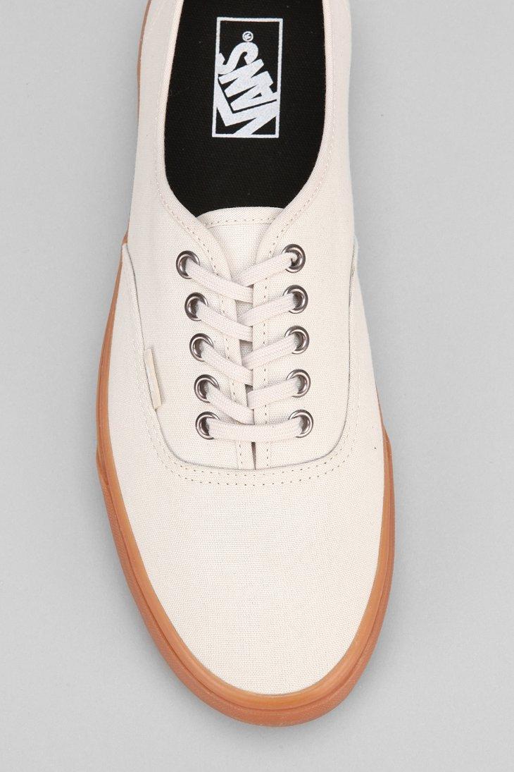 8c73e76b11ec6f Lyst - Vans Authentic Gum-Sole Sneaker in Natural for Men