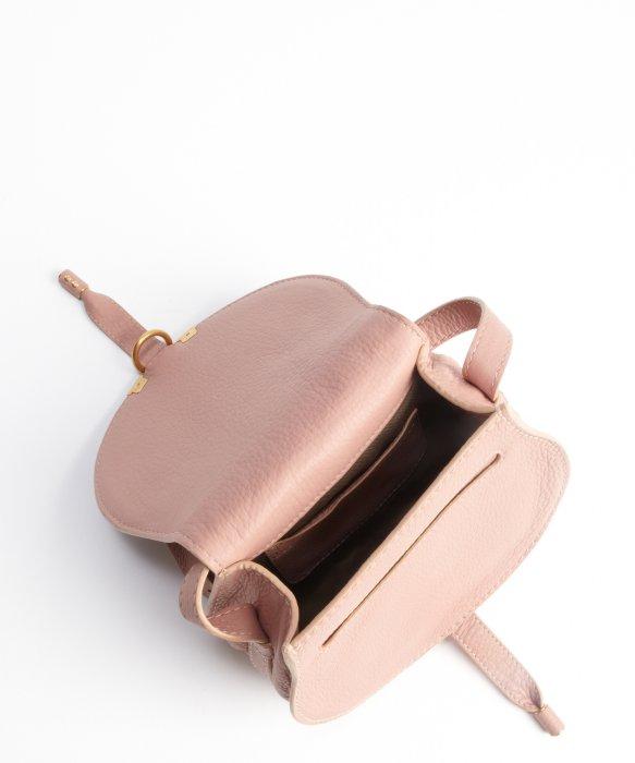 Chlo¨¦ Anemone Pink Lambskin Leather \u0026#39;marcie\u0026#39; Small Crossbody Bag ...