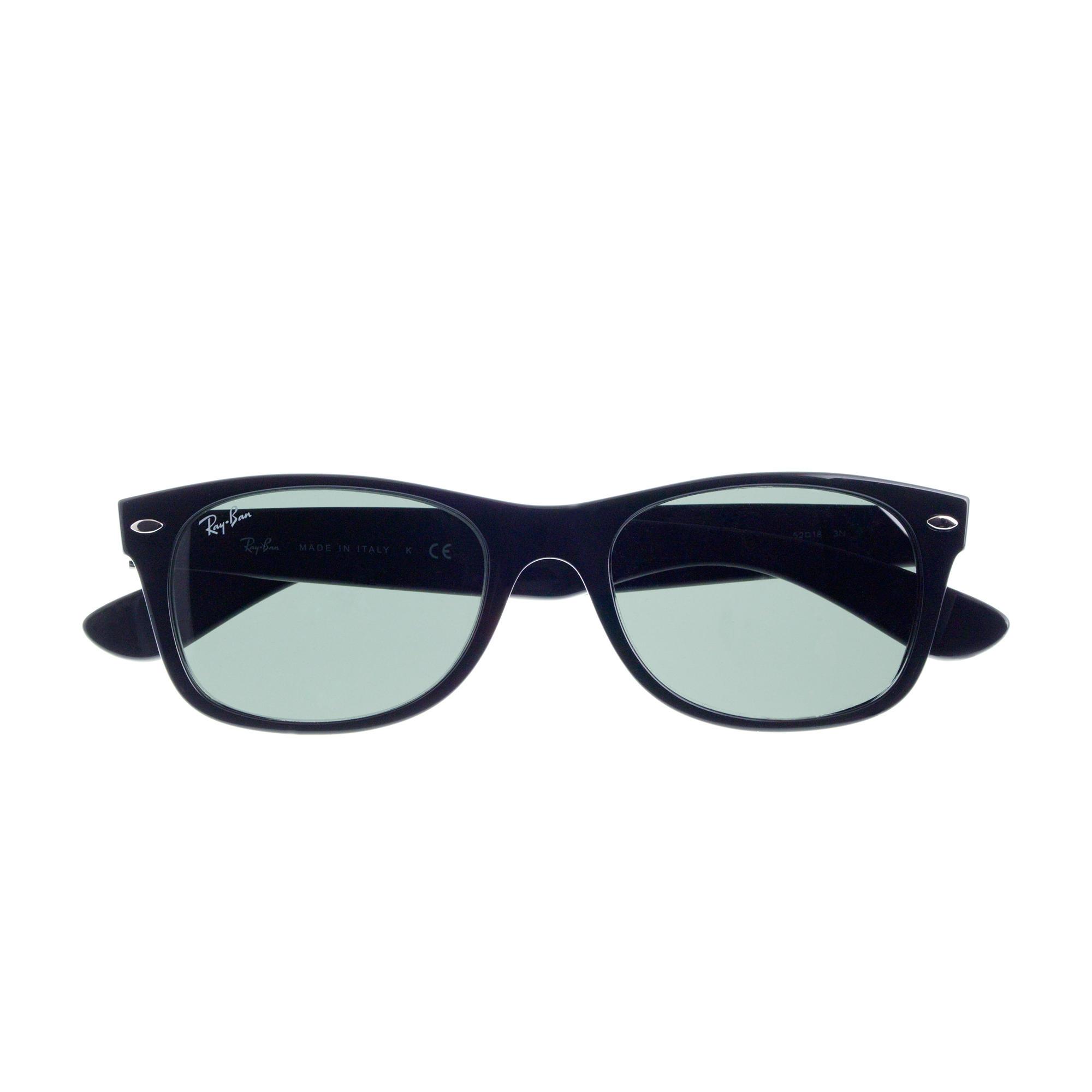53e9f24116a J.Crew Ray-ban New Wayfarer Sunglasses in Black for Men - Lyst