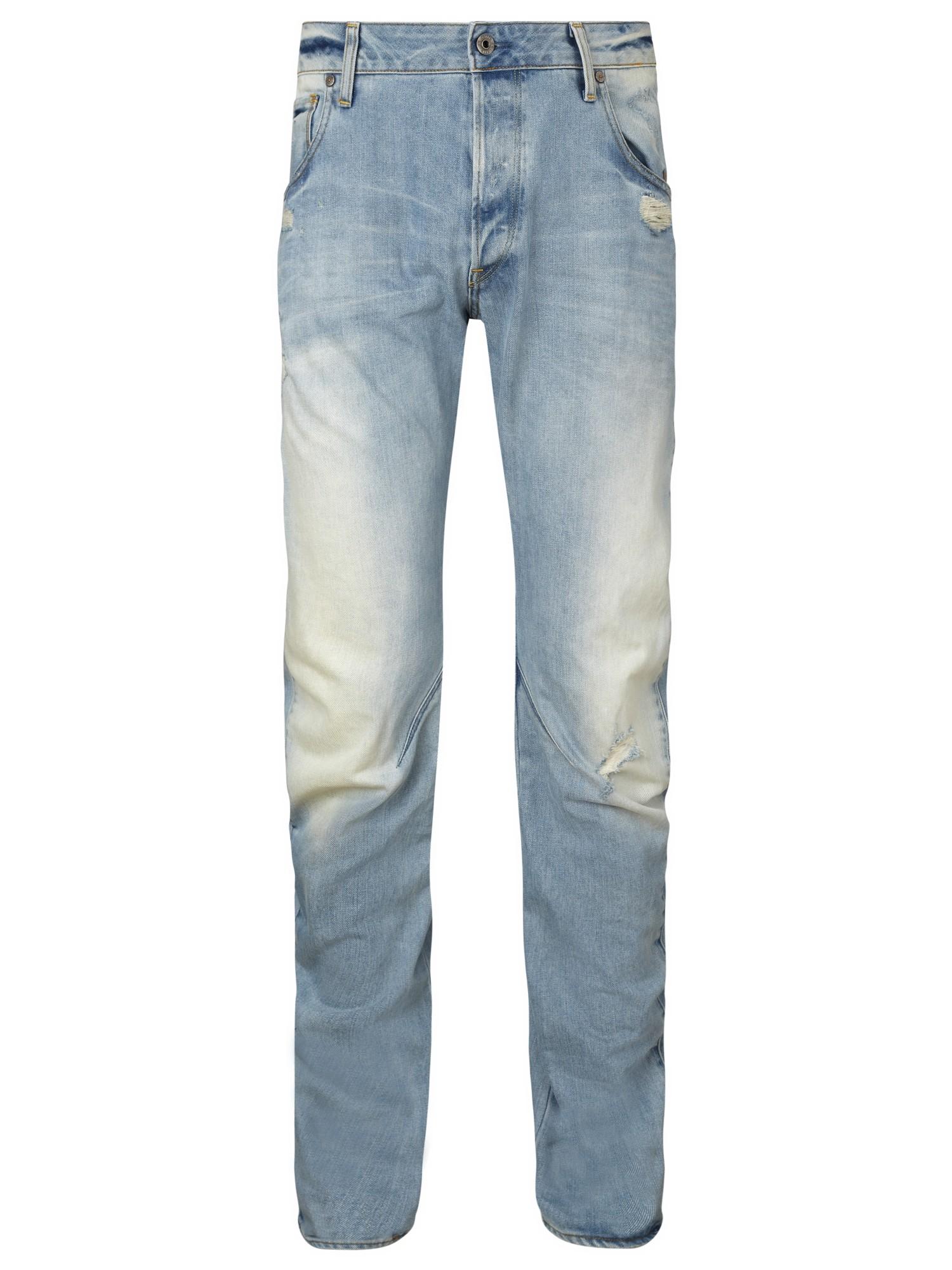 g star raw arc 3d slim jeans in blue for men lyst. Black Bedroom Furniture Sets. Home Design Ideas