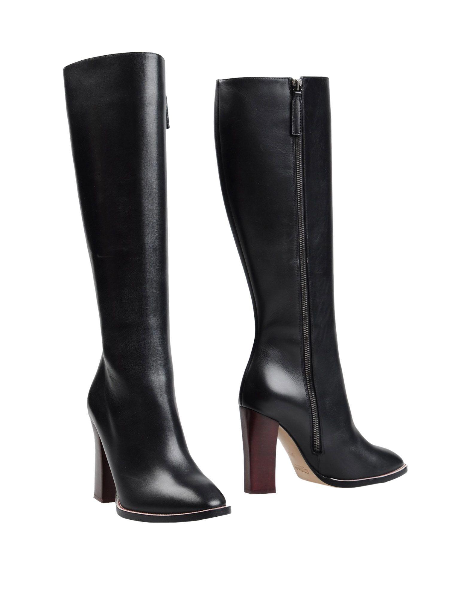chlo boots in black lyst. Black Bedroom Furniture Sets. Home Design Ideas