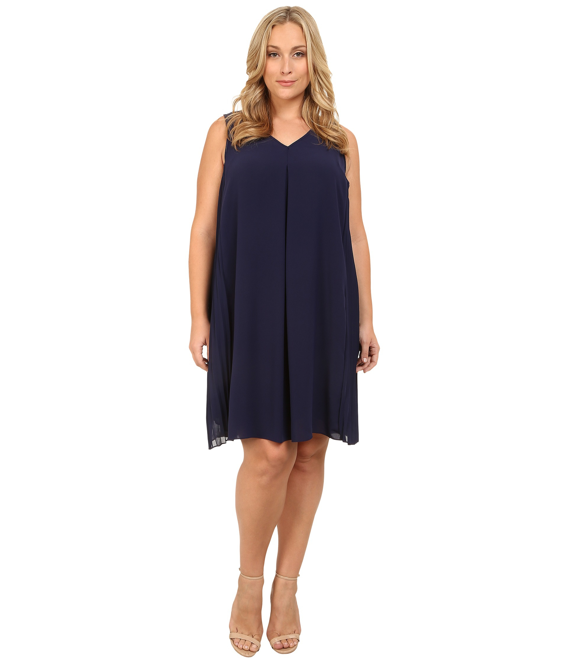 plus size 2 in 1 dresses