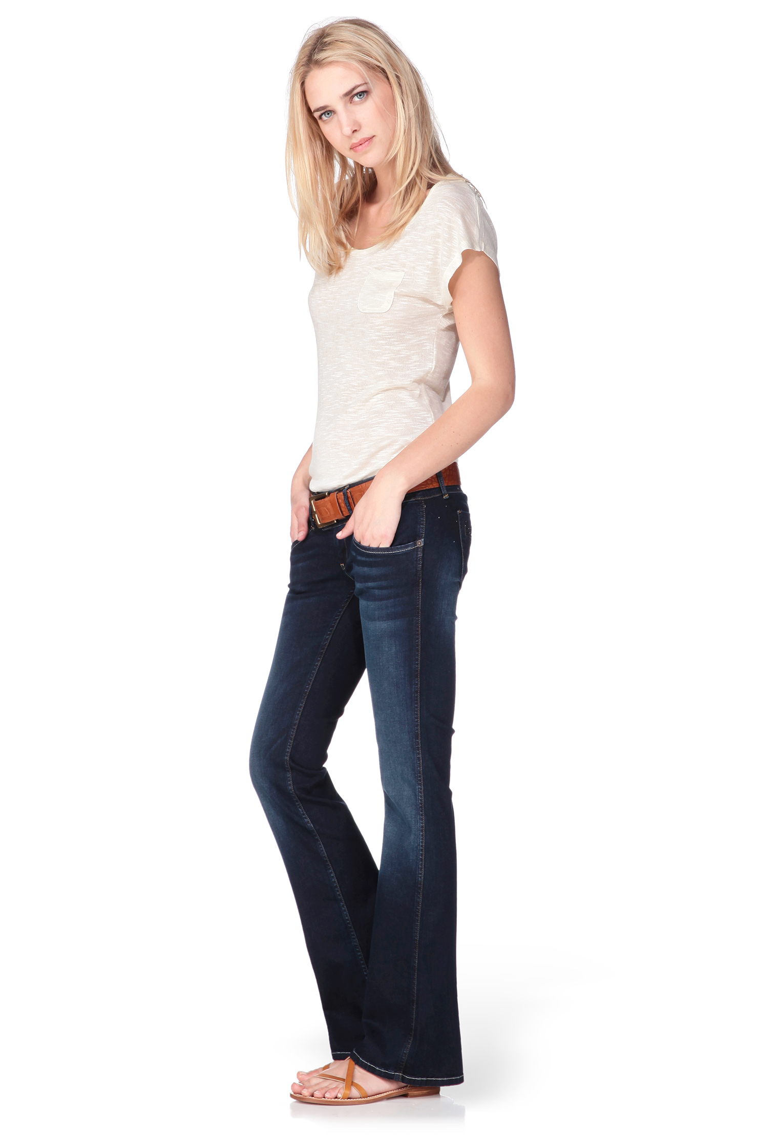 Pepe jeans Flare / Bootcut in Blue | Lyst