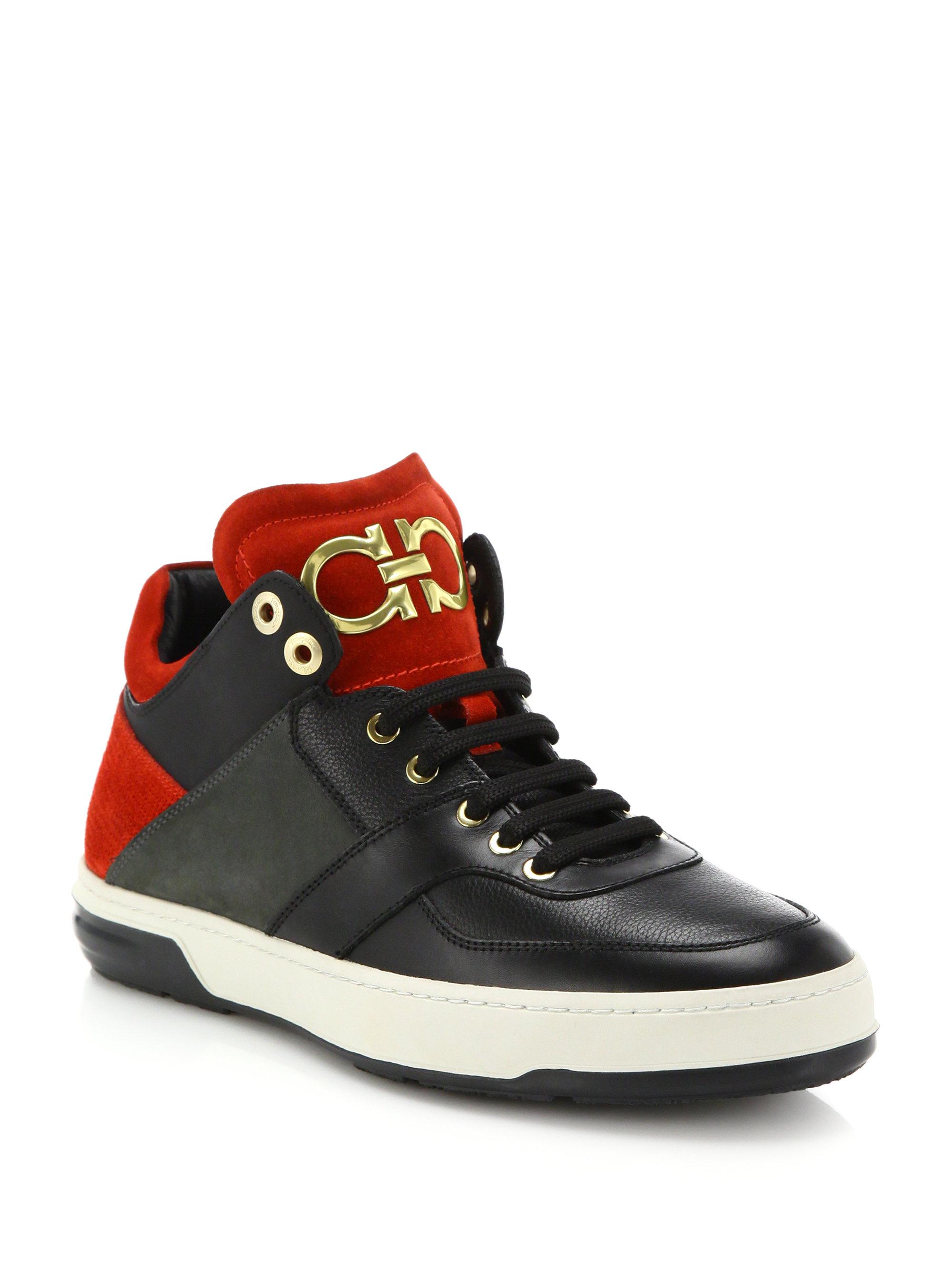 Ferragamo Monroe Chaussures De Sport - Noir Co2O0LJ