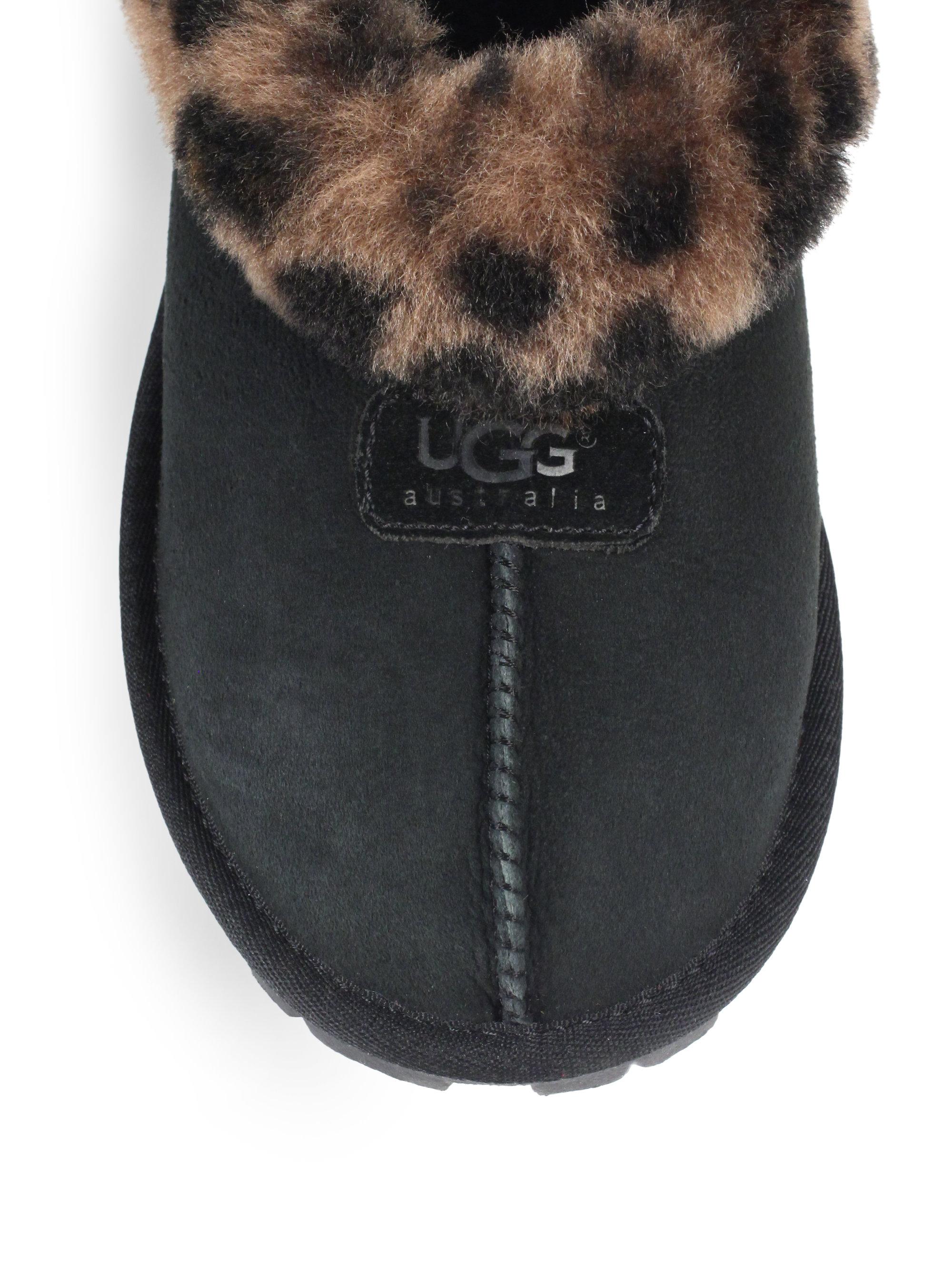 black leopard uggs