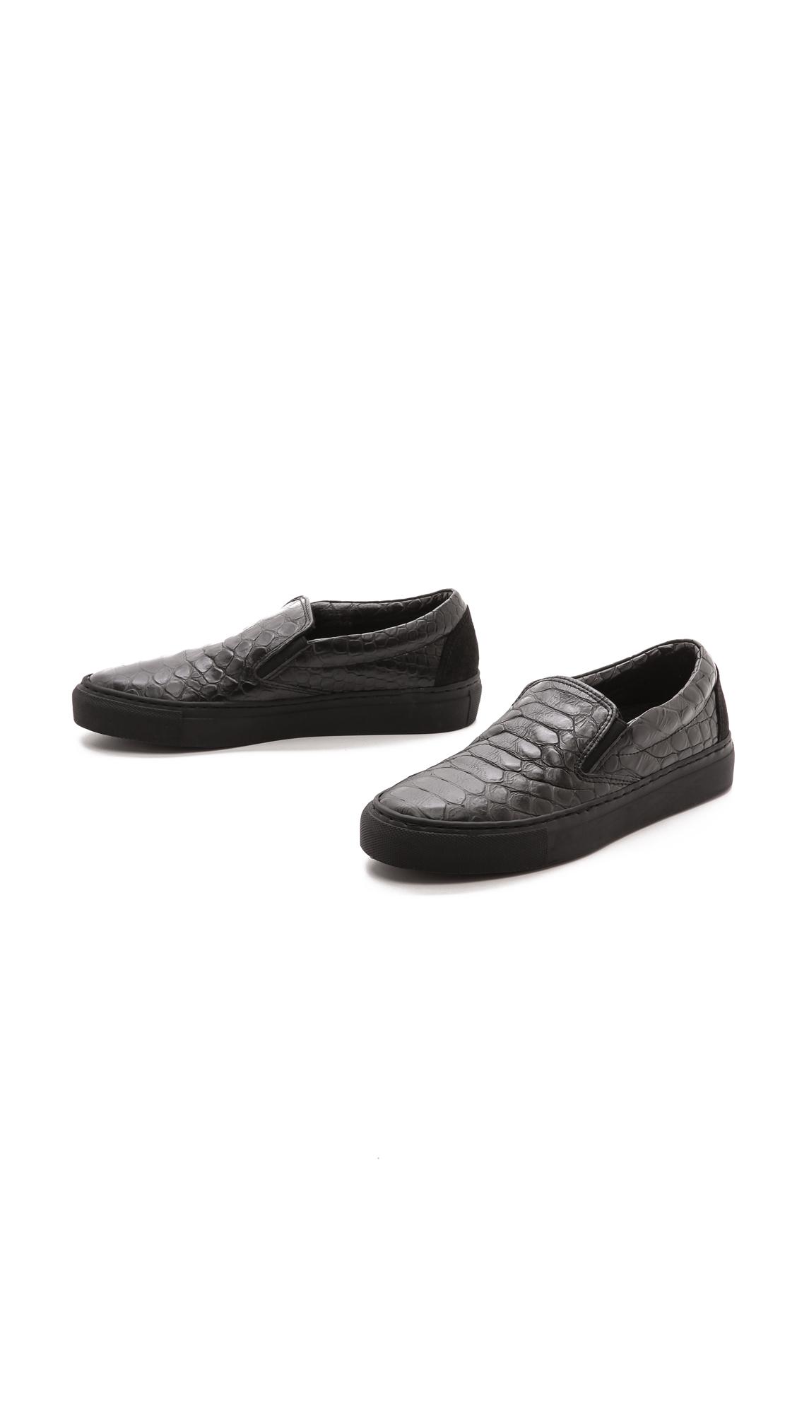 Won Hundred Willow Slip On Sneakers - Black