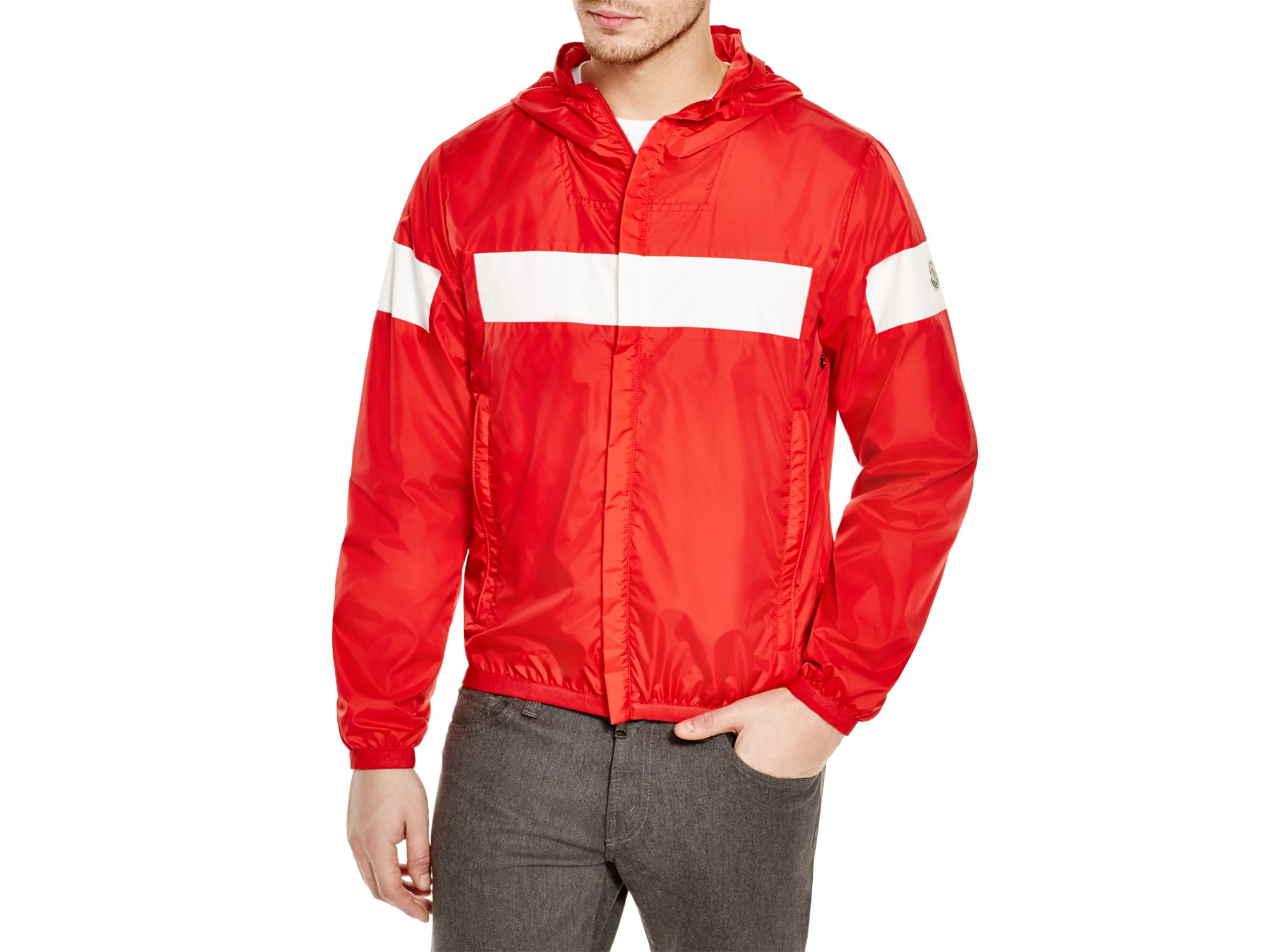 58f850a67 Lyst - Moncler Reno Strip Jacket in White for Men