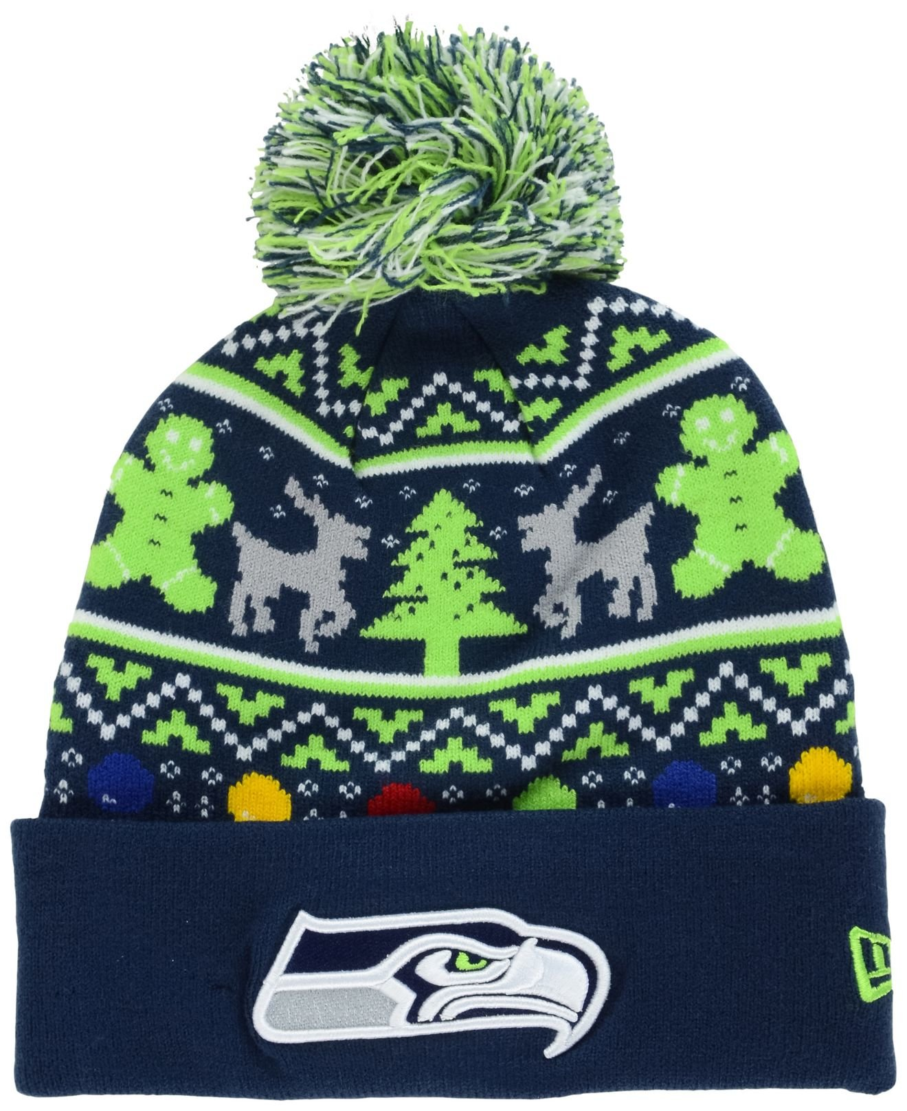 gallery - Seahawks Christmas Sweater
