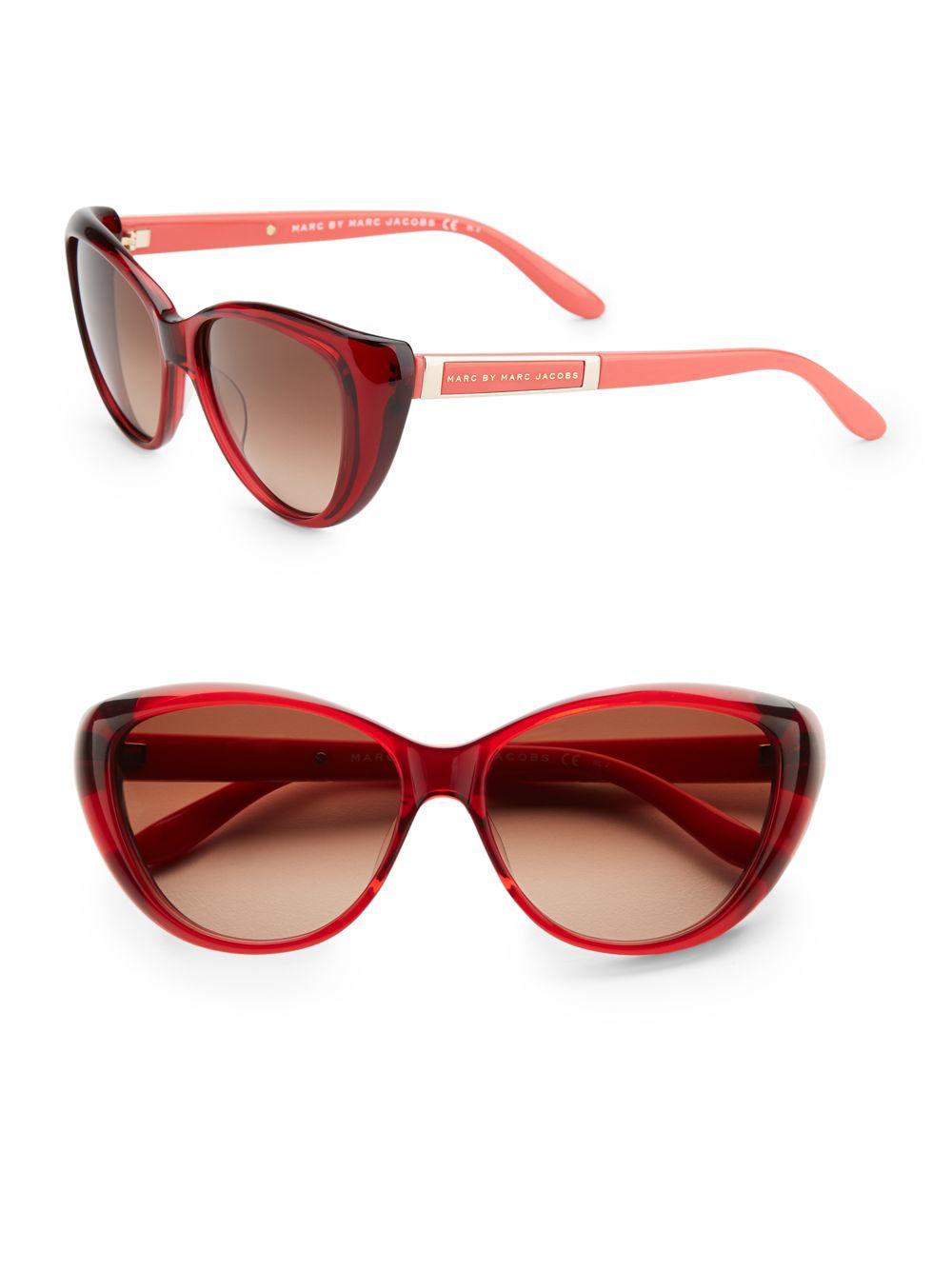Marc Jacobs Red Cat Eye Frames