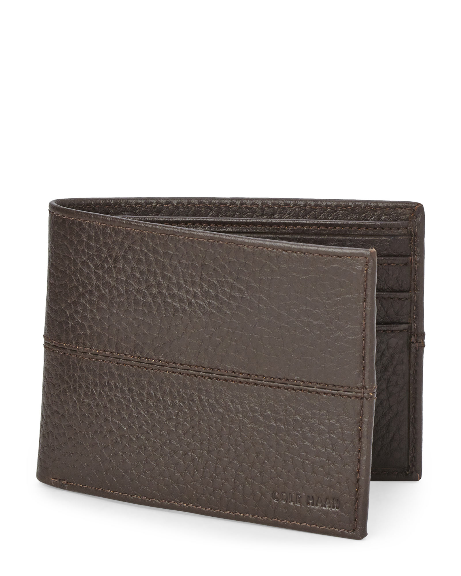 faa3770d274 Cole Haan Leather Billfold Wallet in Brown for Men - Lyst