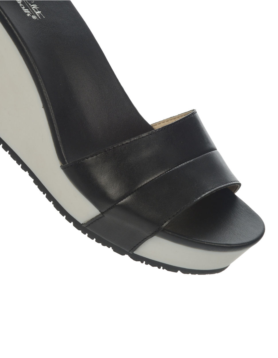 Dr Scholls Warner Wedge Sandals In Black Lyst