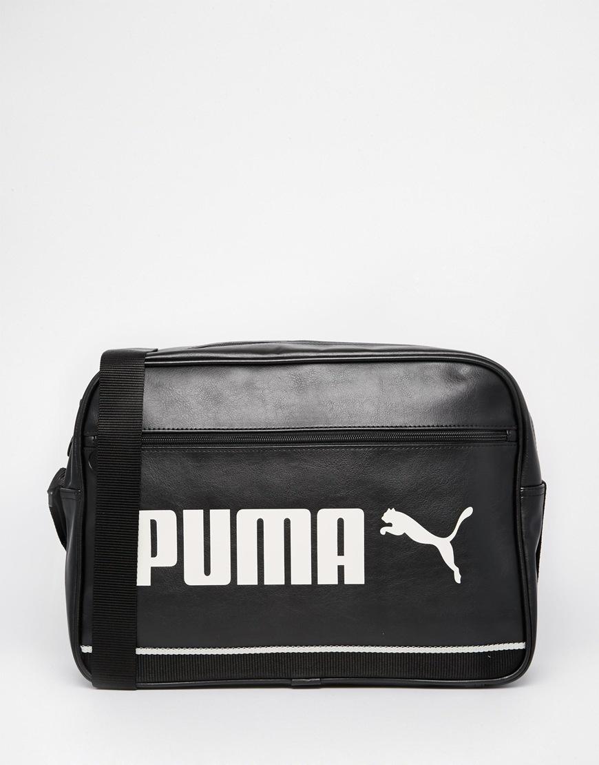 b6699018972b Lyst - PUMA Messenger Bag in Black for Men
