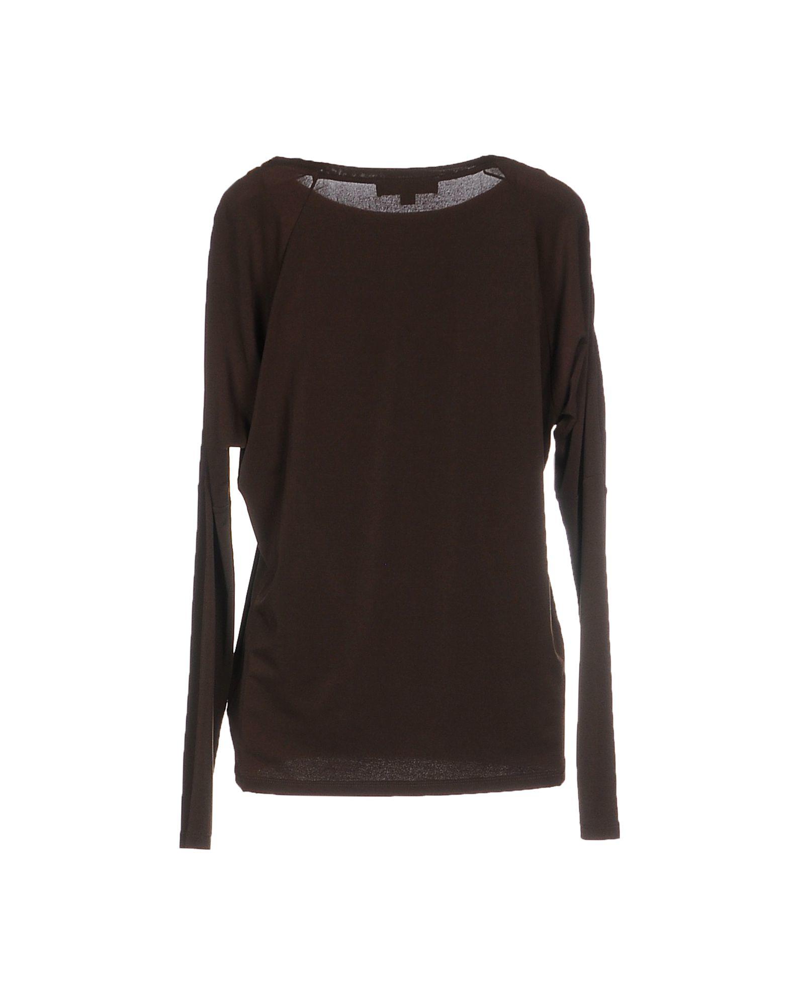 michael michael kors t shirt in brown lyst. Black Bedroom Furniture Sets. Home Design Ideas