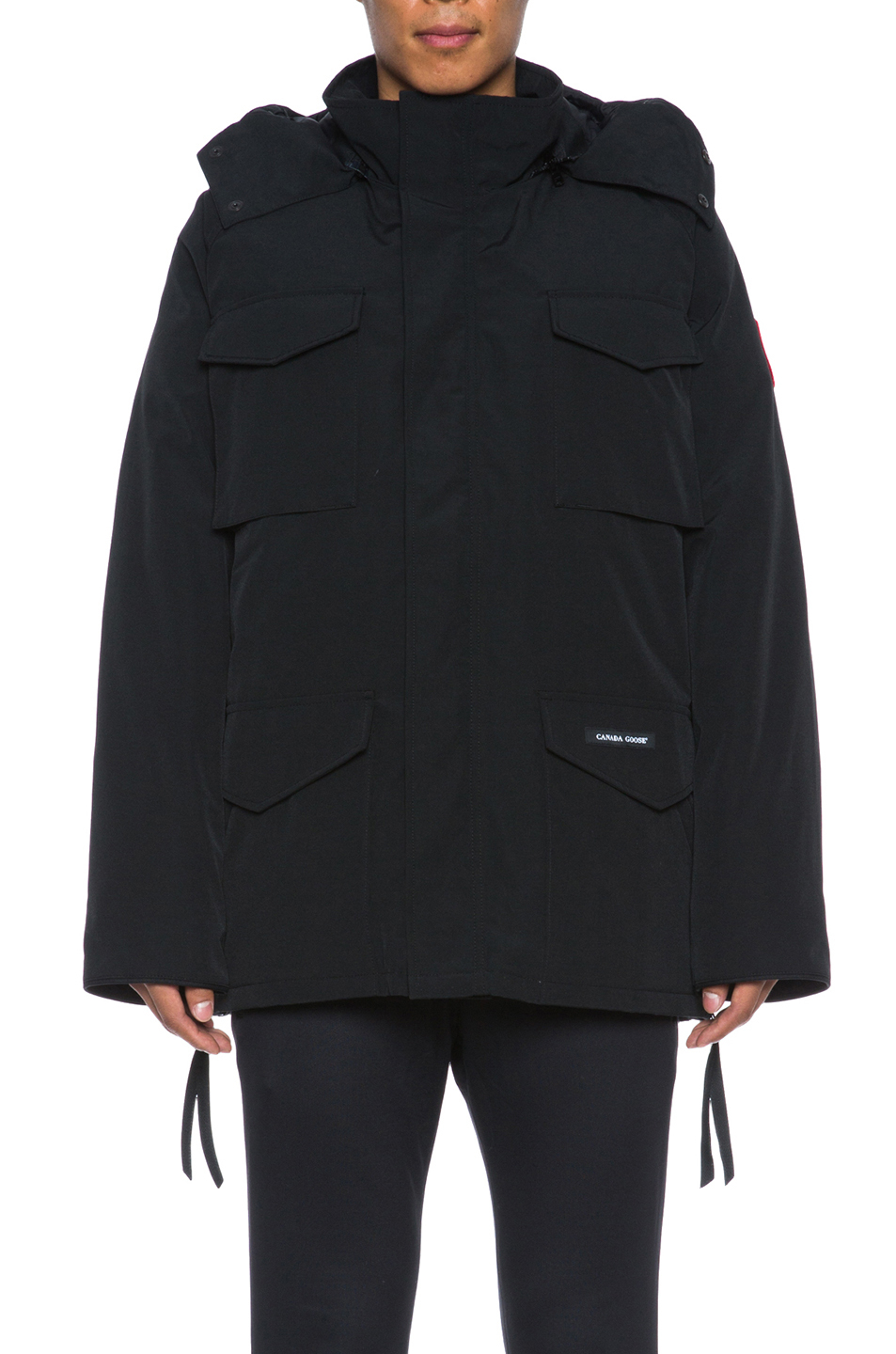 Lyst Canada Goose Men S Constable Poly Blend Parka In Black