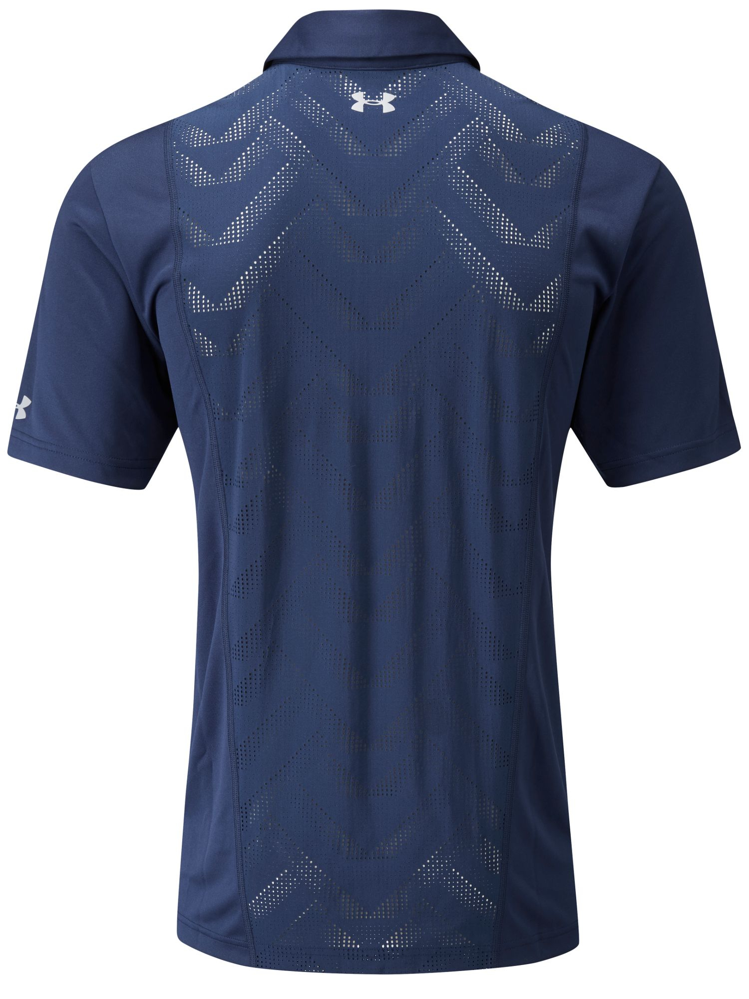 Under armour Armourvent Tips Polo in Blue for Men