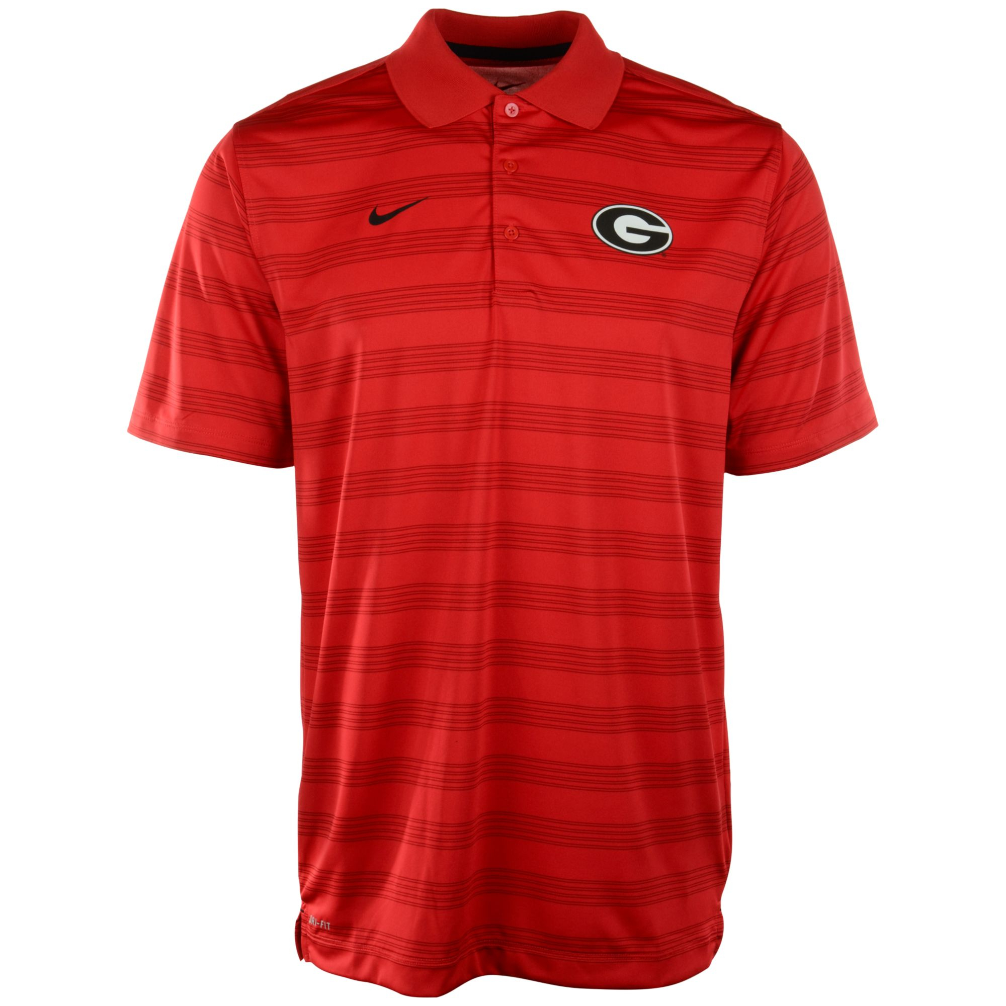 Nike Men'S Georgia Bulldogs Dri-Fit Preseason Polo Shirt ...