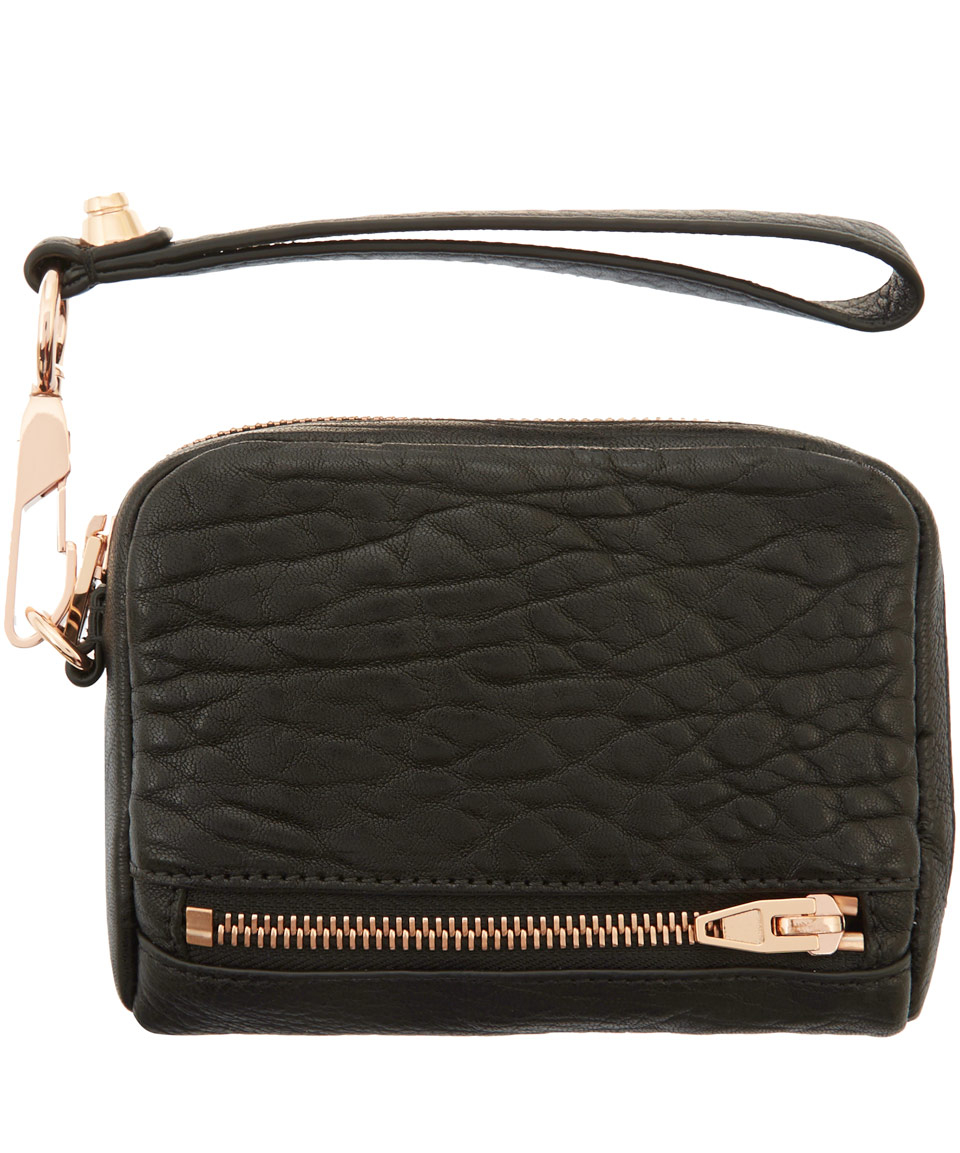 Alexander Wang Large Black Fumo Purse With