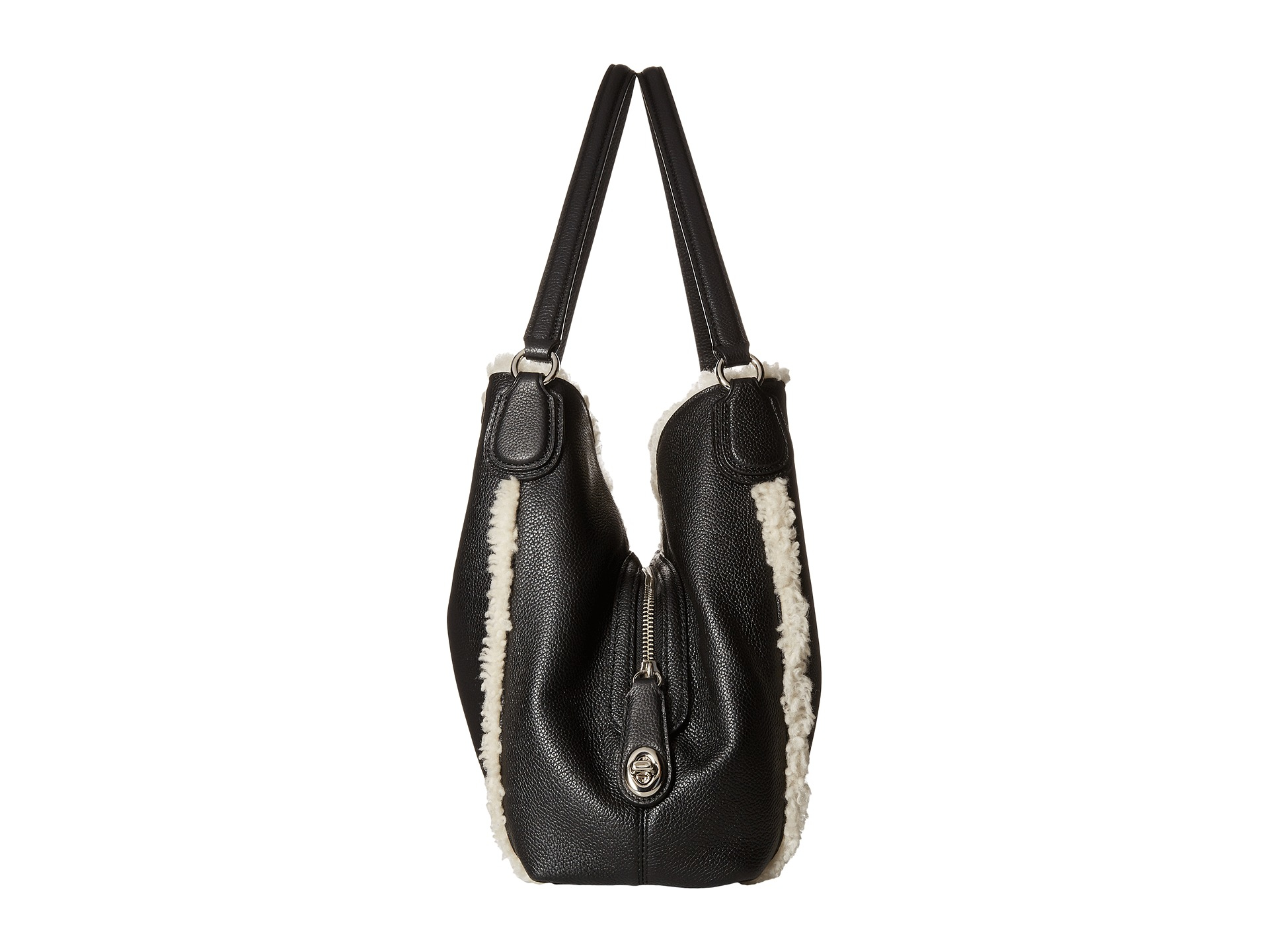 99b7201e8d1 1234567 15f06 4923f  free shipping gallery. previously sold at zappos  womens shearling bags womens coach edie 305a8 7310b