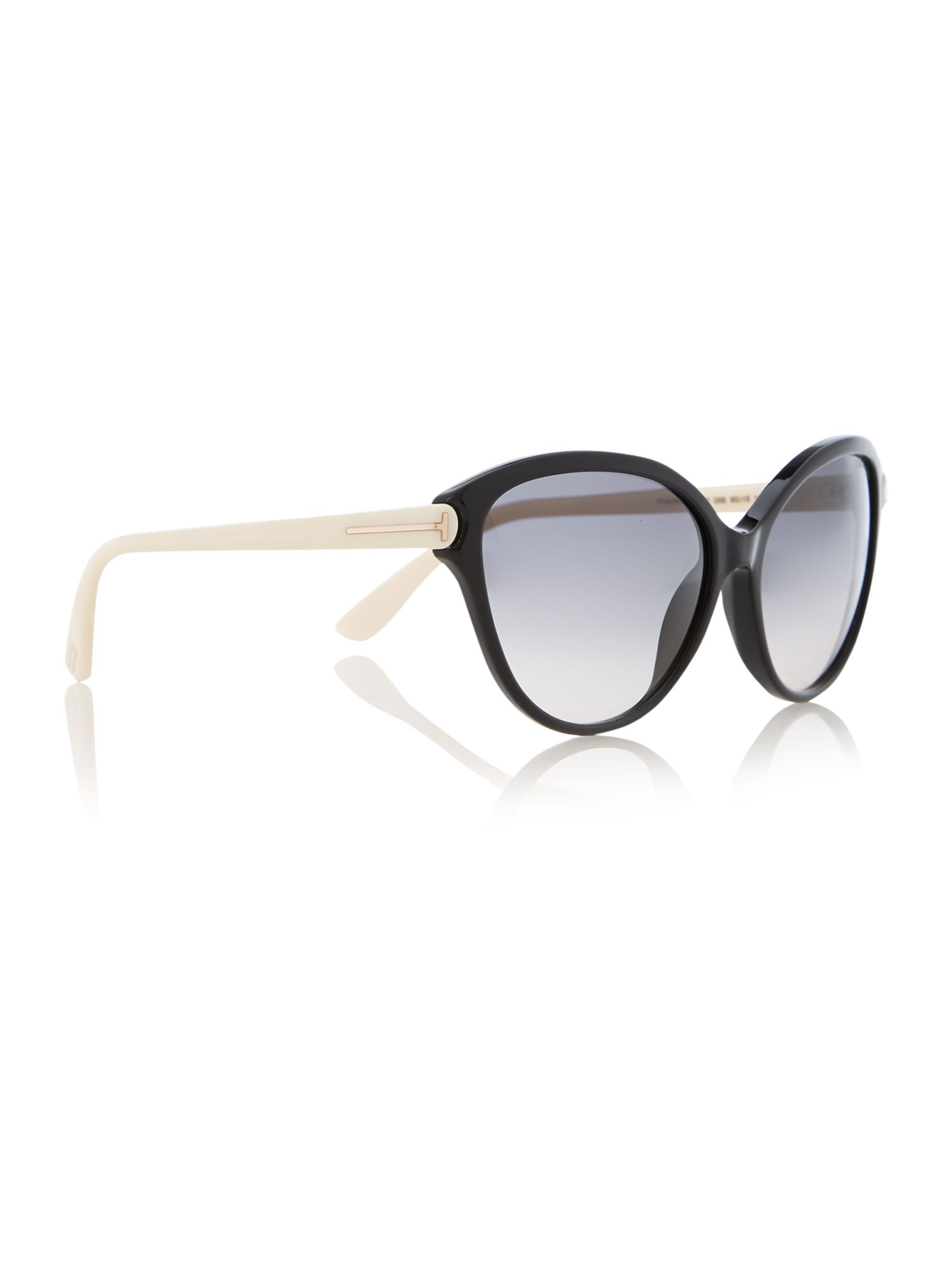 Tom Ford Square Matte Sunglasses in Black