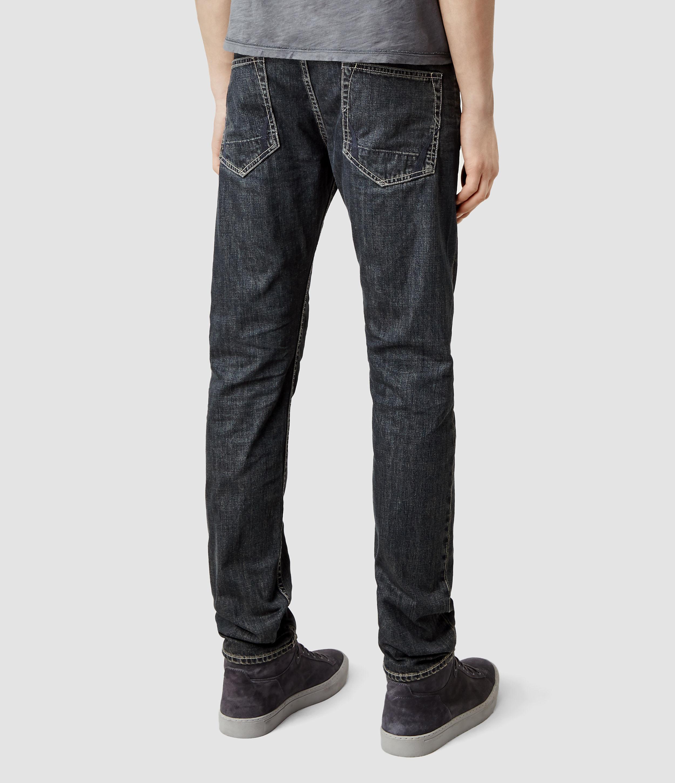 AllSaints Duncan Cigarette Jeans in Indigo (Blue) for Men