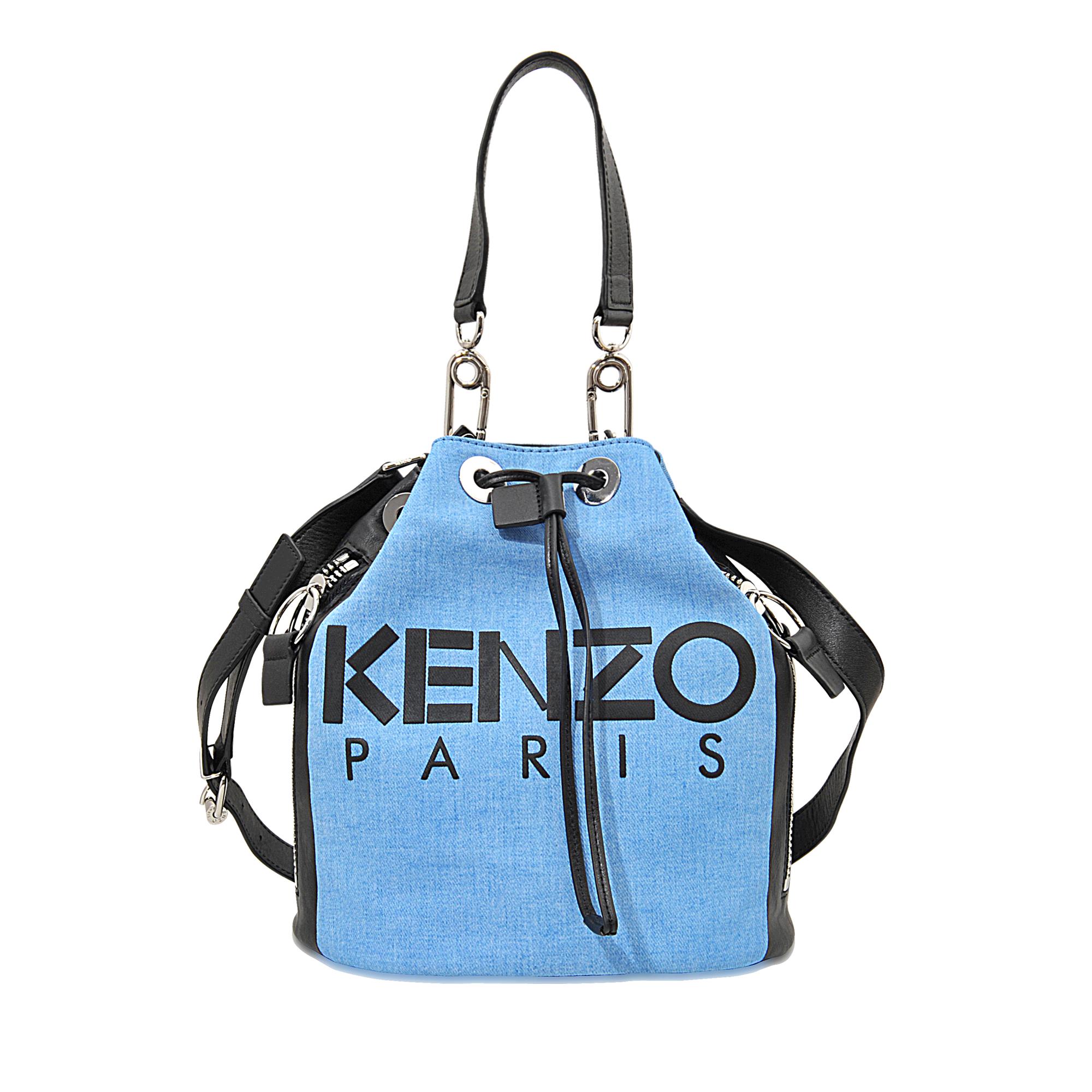 37705bbac3 KENZO Kanvas Bucket Bag in Blue - Lyst