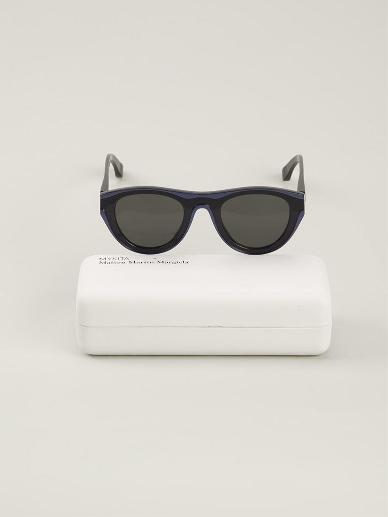 Mykita maison martin margiela mmdual003 sunglasses in for Martin margiela glasses