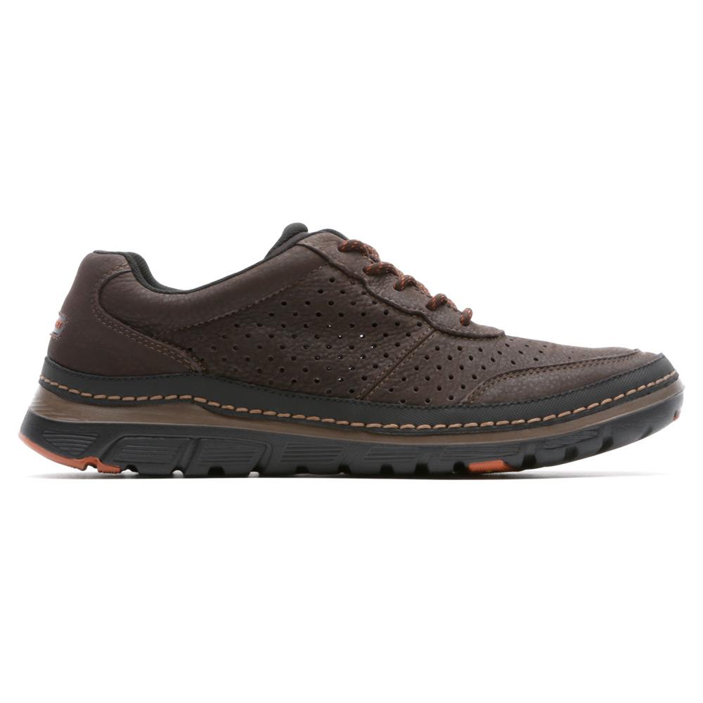 Grey Oxford Shoes Men Rockport