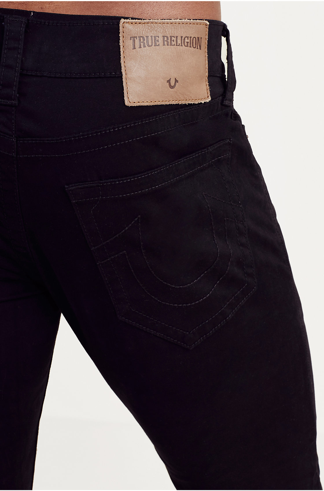 True religion Rocco Skinny Mens Pant in Black for Men | Lyst