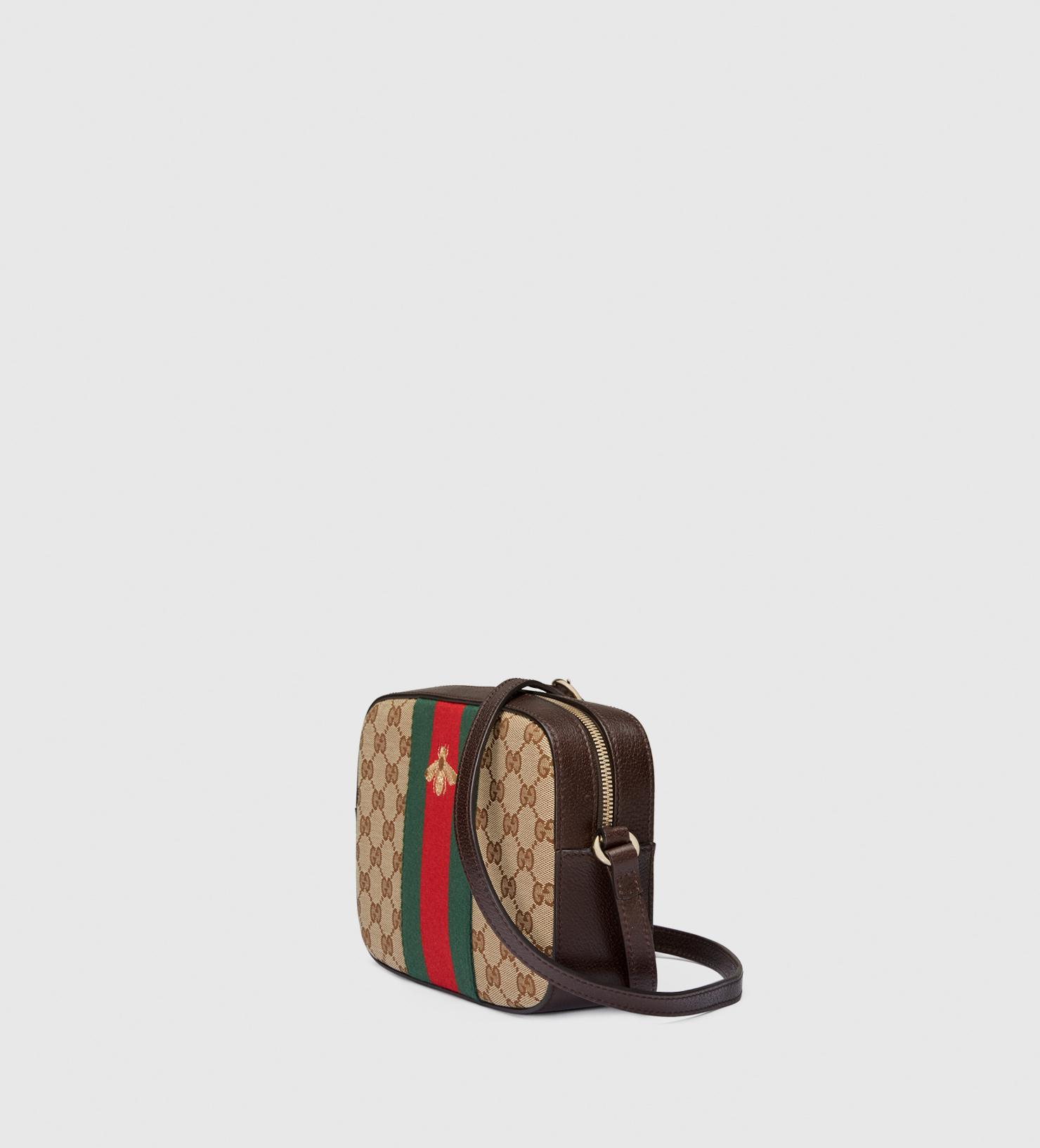 1a5e38fe67b Gucci Original Gg Canvas Shoulder Bag in Red - Lyst
