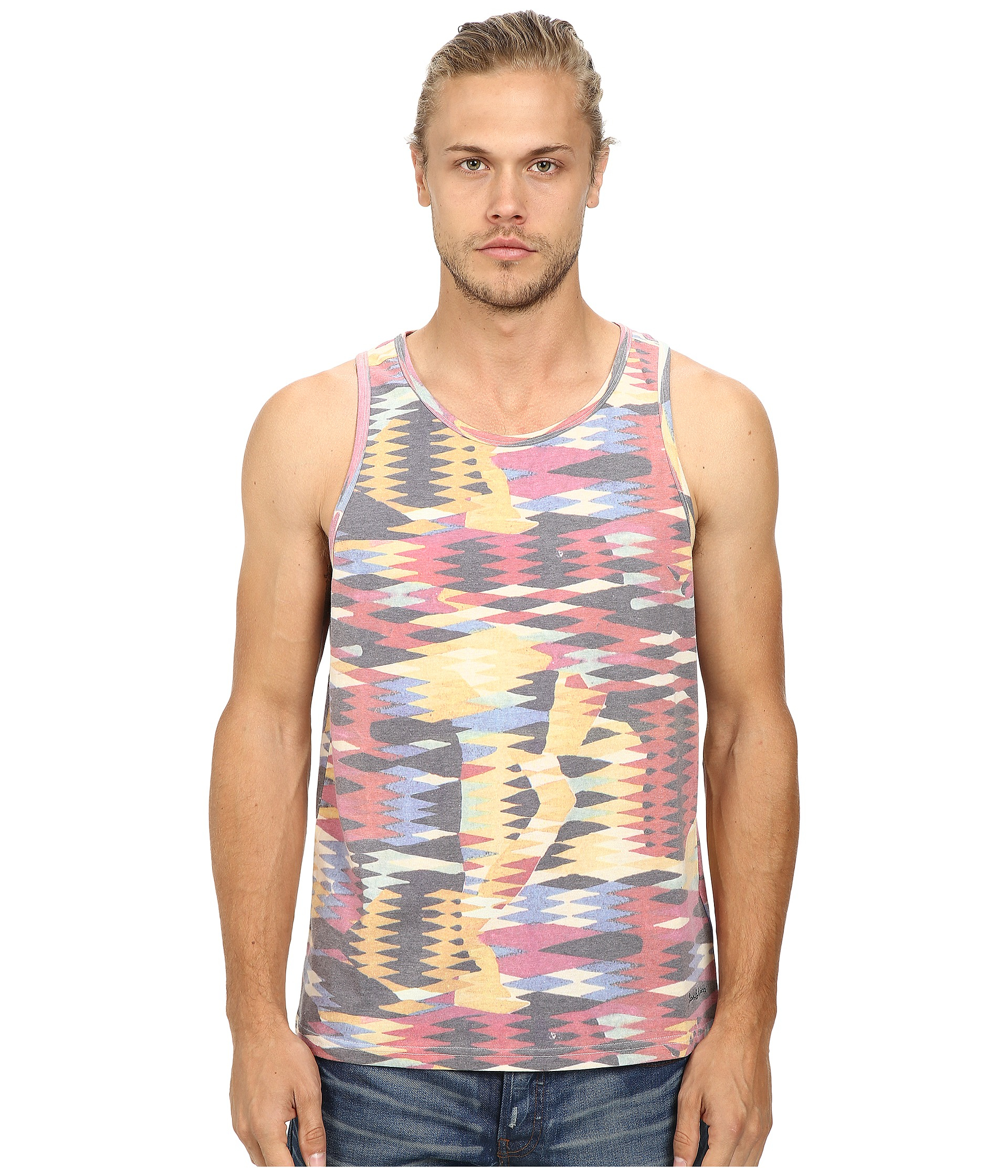 7c1669ce68b2a Lyst - Deus Ex Machina Hatchet Tank Top in Pink for Men