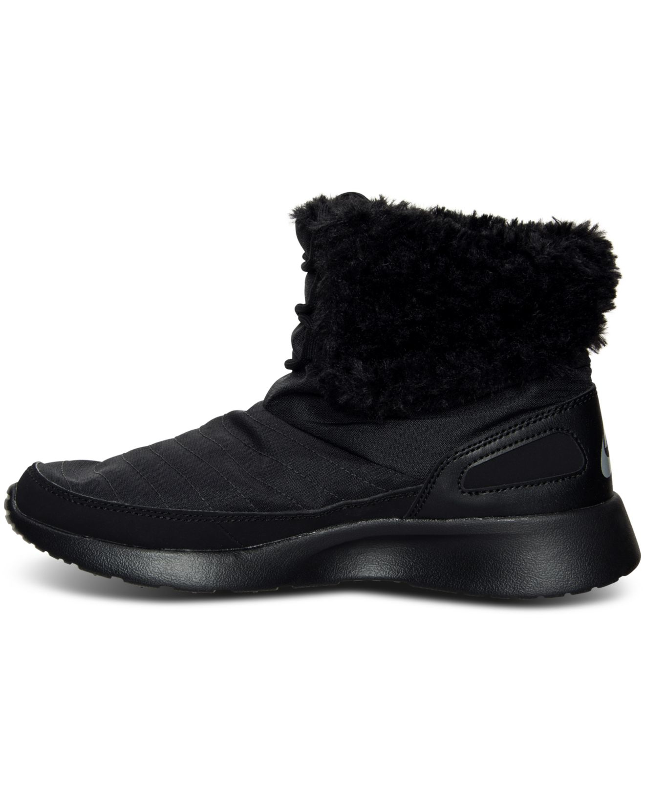 Nike Black Women's Kaishi Winter High Sneakerboots From Finish Line
