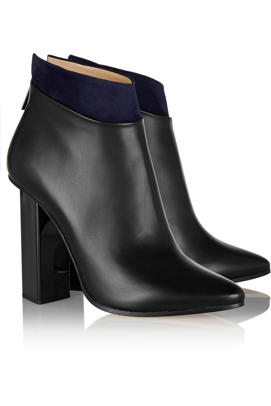Manchester online Jimmy Choo Legion Leather Booties collections online for nice cheap price wholesale price cheap online cheap amazing price HGwuOB