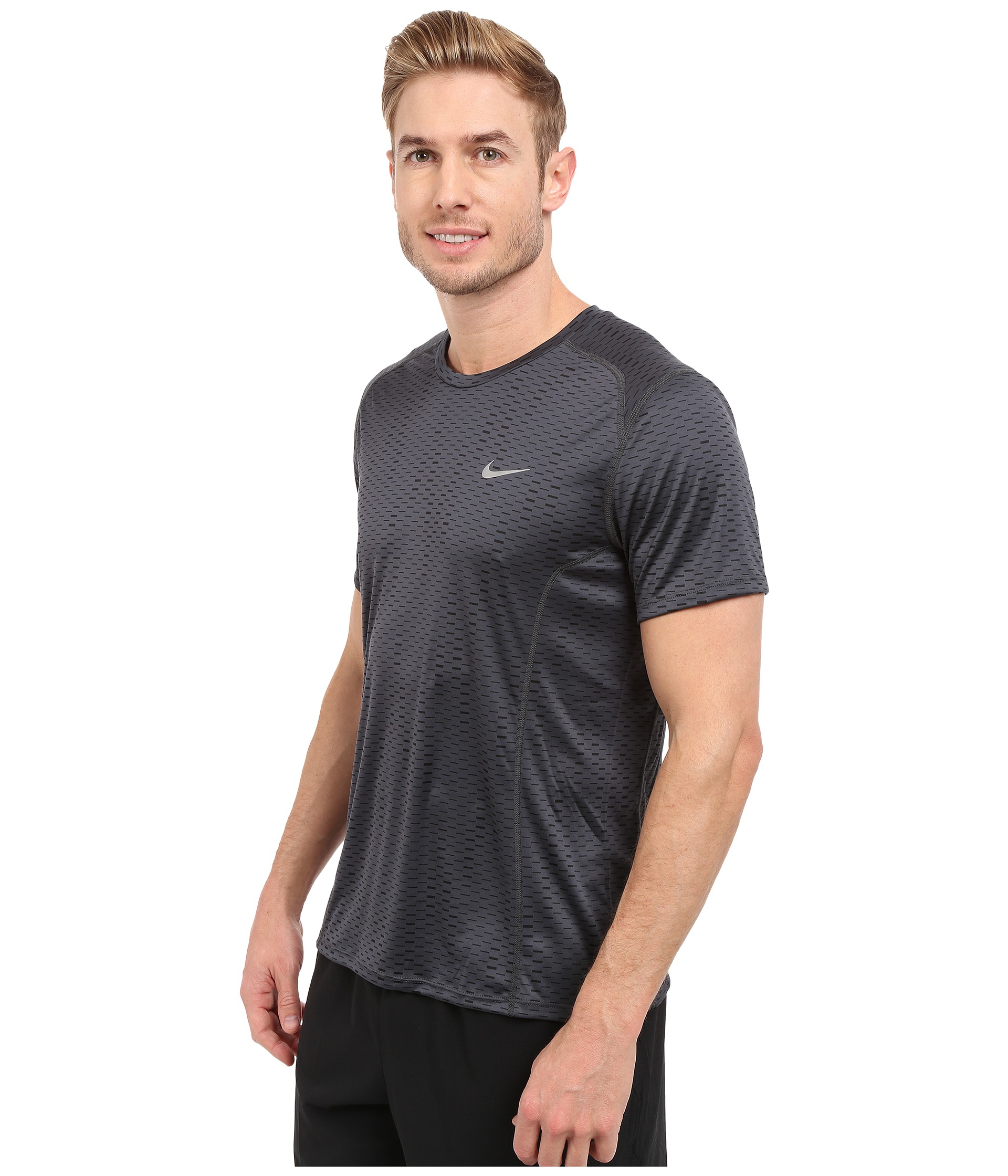 9c928affa469b Nike Womens Dri Fit Miler Short Sleeve Running Shirt - raveitsafe