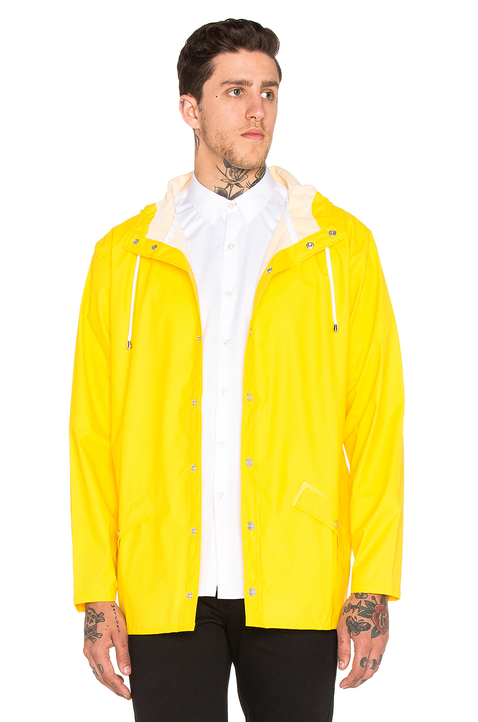 Rains Jacket in Yellow for Men | Lyst