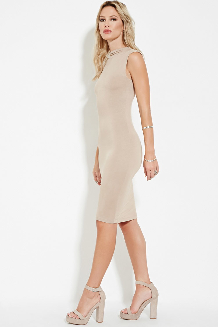 6ce2c0491537 Forever 21 Mock-neck Bodycon Dress You've Been Added To The Waitlist ...