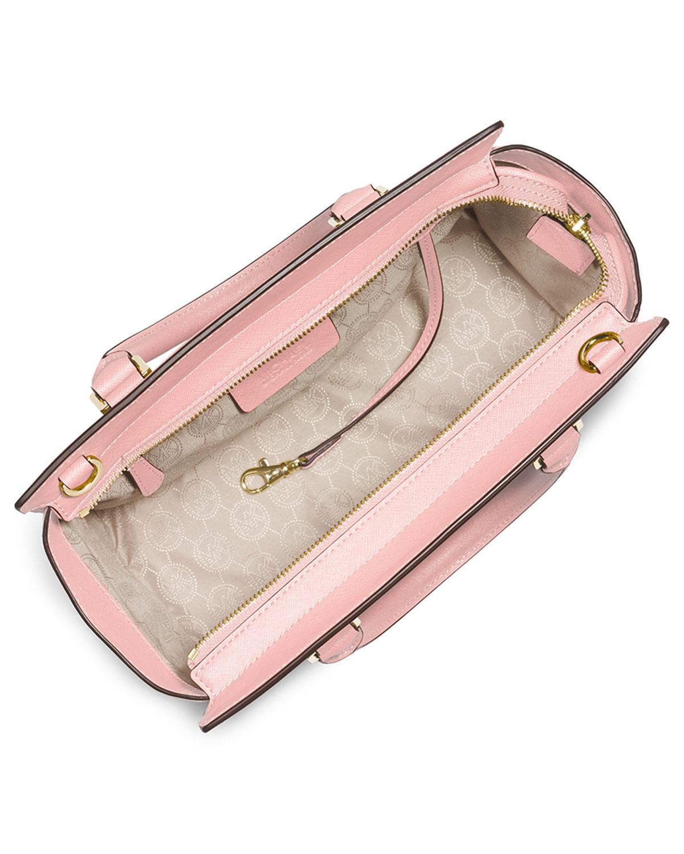 michael michael kors selma medium top zip satchel bag in. Black Bedroom Furniture Sets. Home Design Ideas